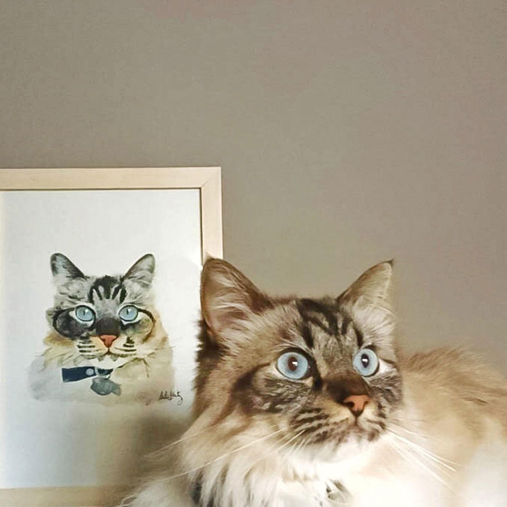 El taller para pintar a tu mascota dura 3 horas y no se necesita experiencia.