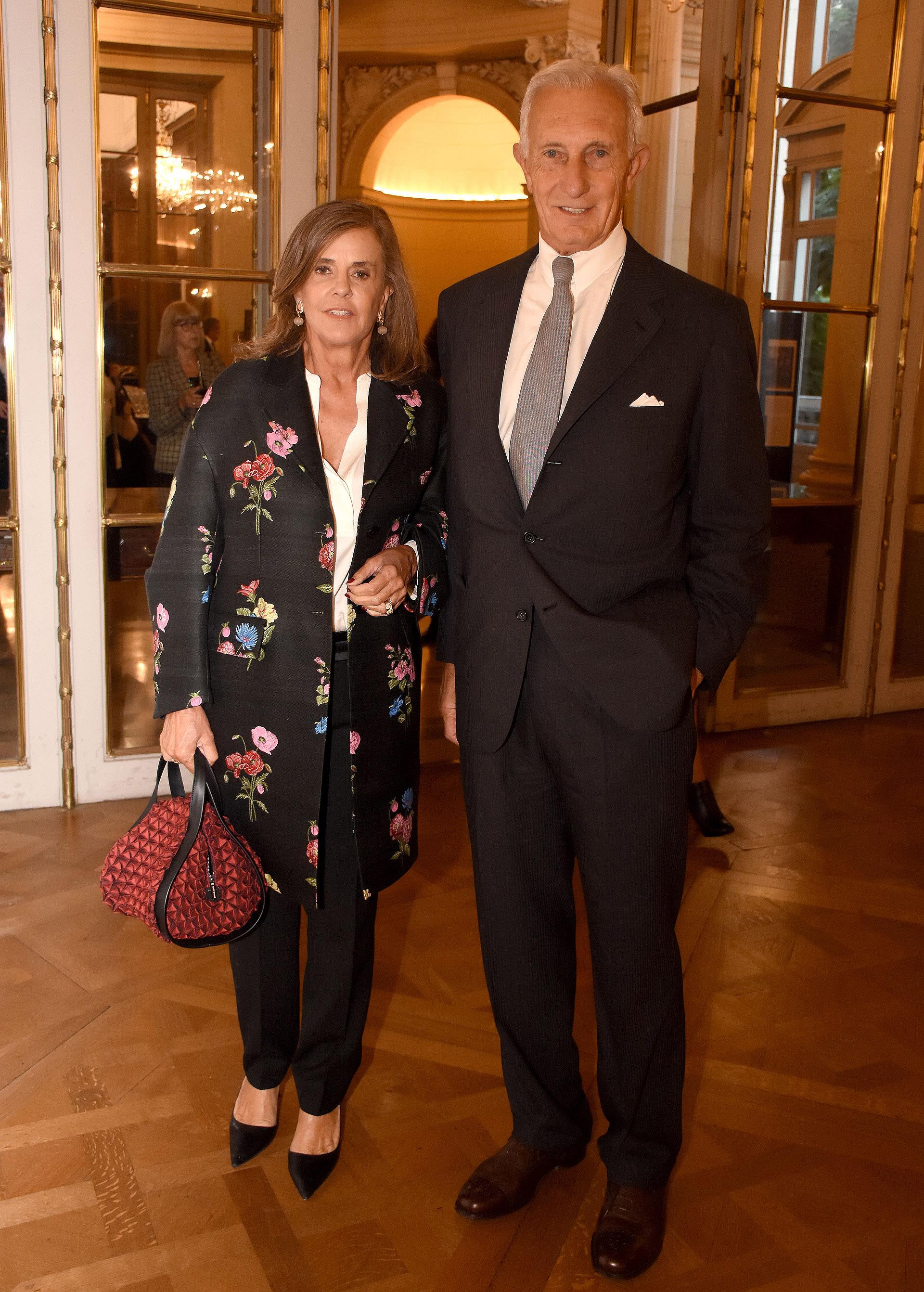 Silvia Saravia de Neuss y Jorge Neuss