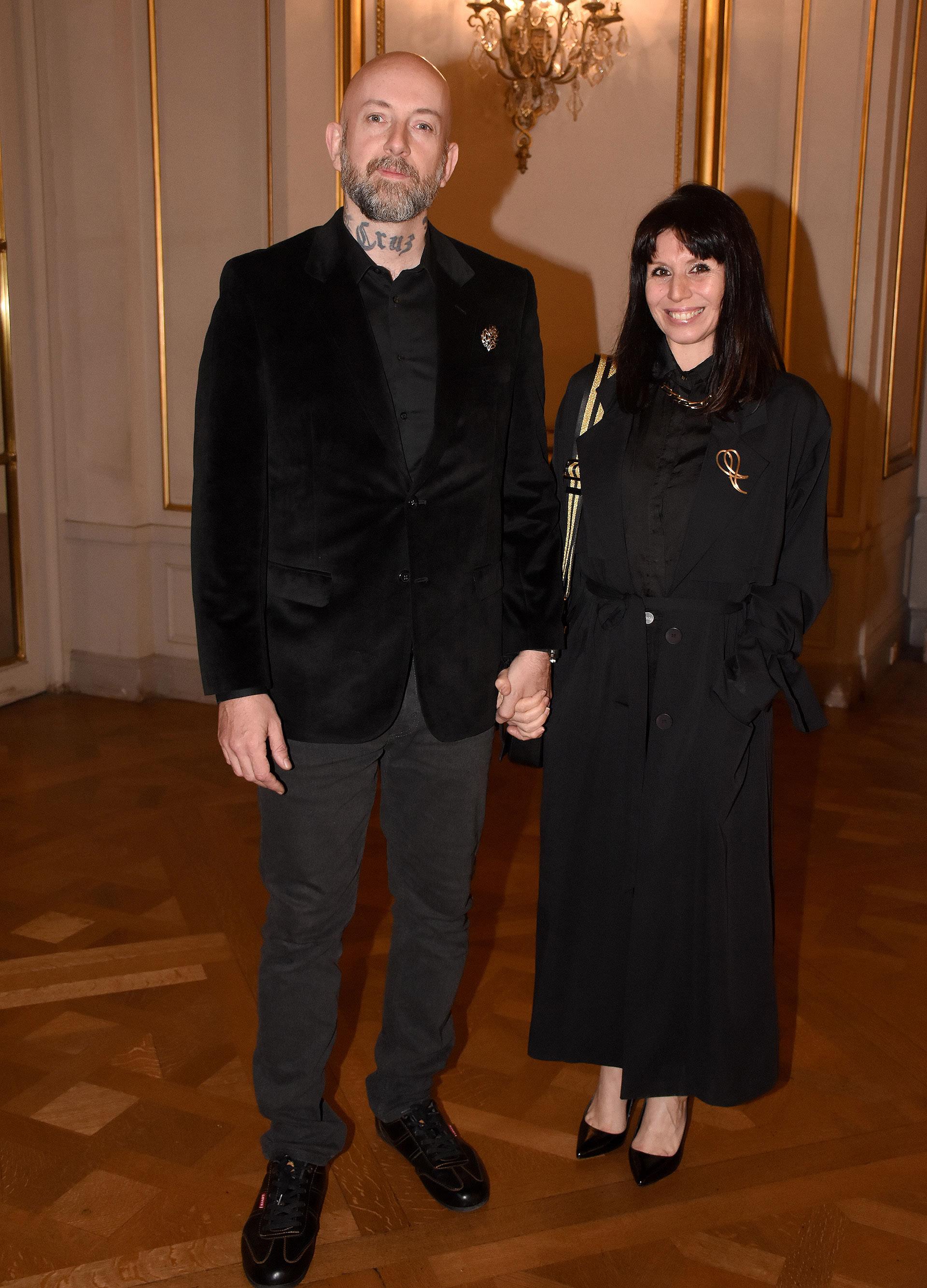 Los artistas plásticos Matías Kritz y Alejandra Van der Land