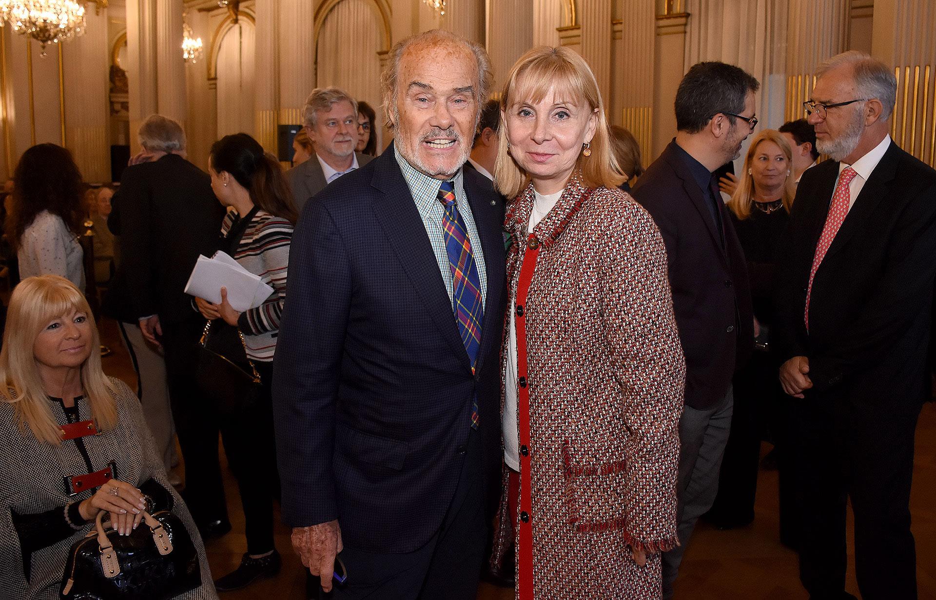 Gino Bogani y María Victoria Alcaraz