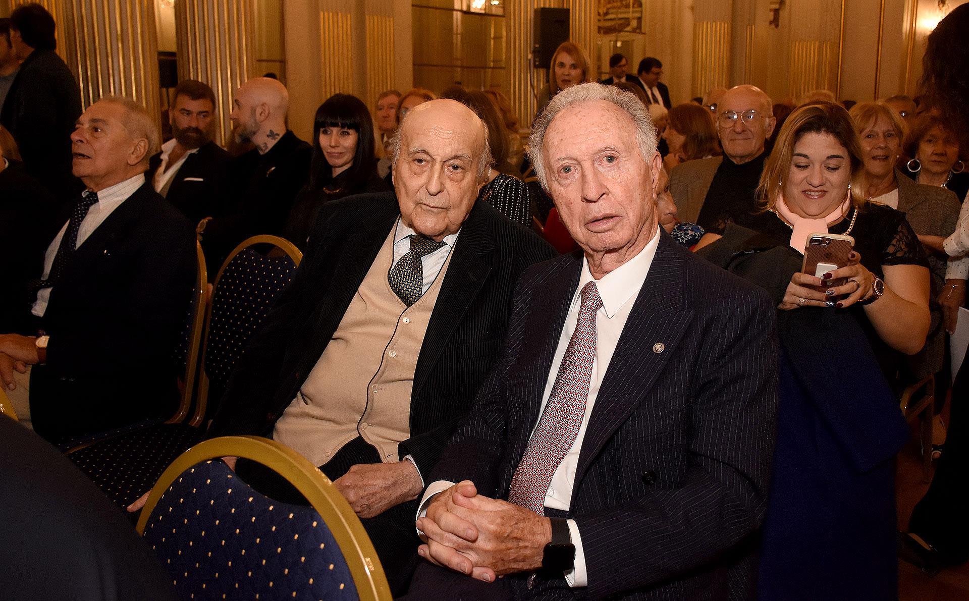 Antonio Estrany – Gendre y Jorge Di Fiori, titular de la Cámara Argentina de Comercio