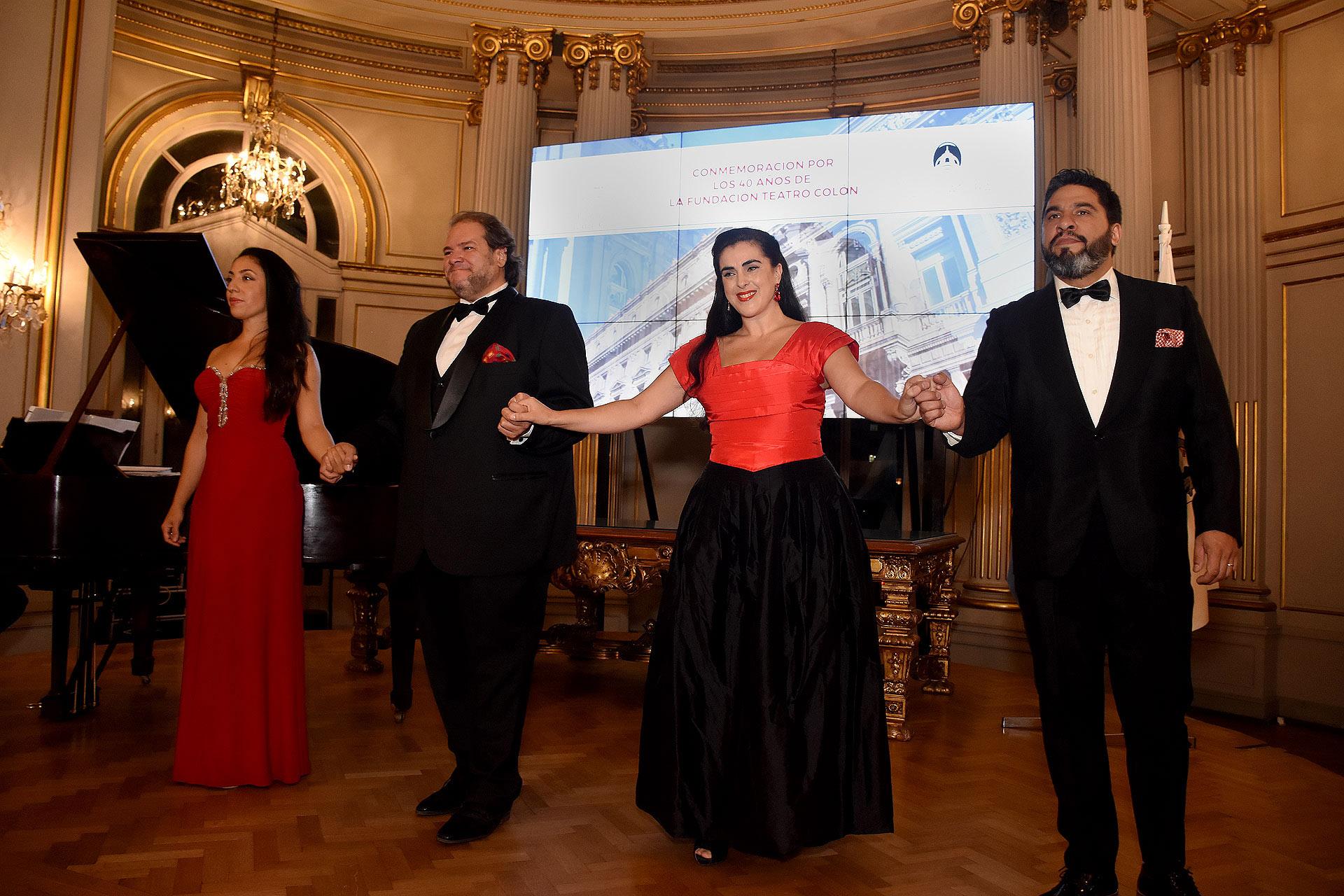 Como broche de oro, tuvo lugar un concierto con la participación del maestro Marcelo Ayub en piano, la soprano Marina Silva, el tenor Duilio Smiriglia, la mezzosoprano Rocío Arbizu y el barítono Cristian Maldonado