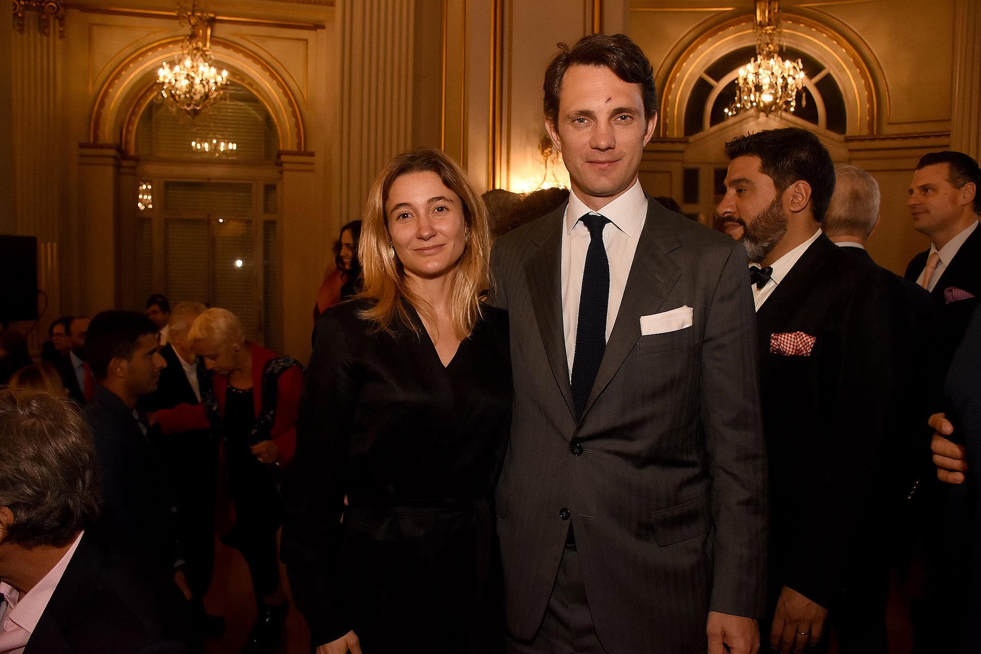 María Blaquier y su marido Patricio Neuss