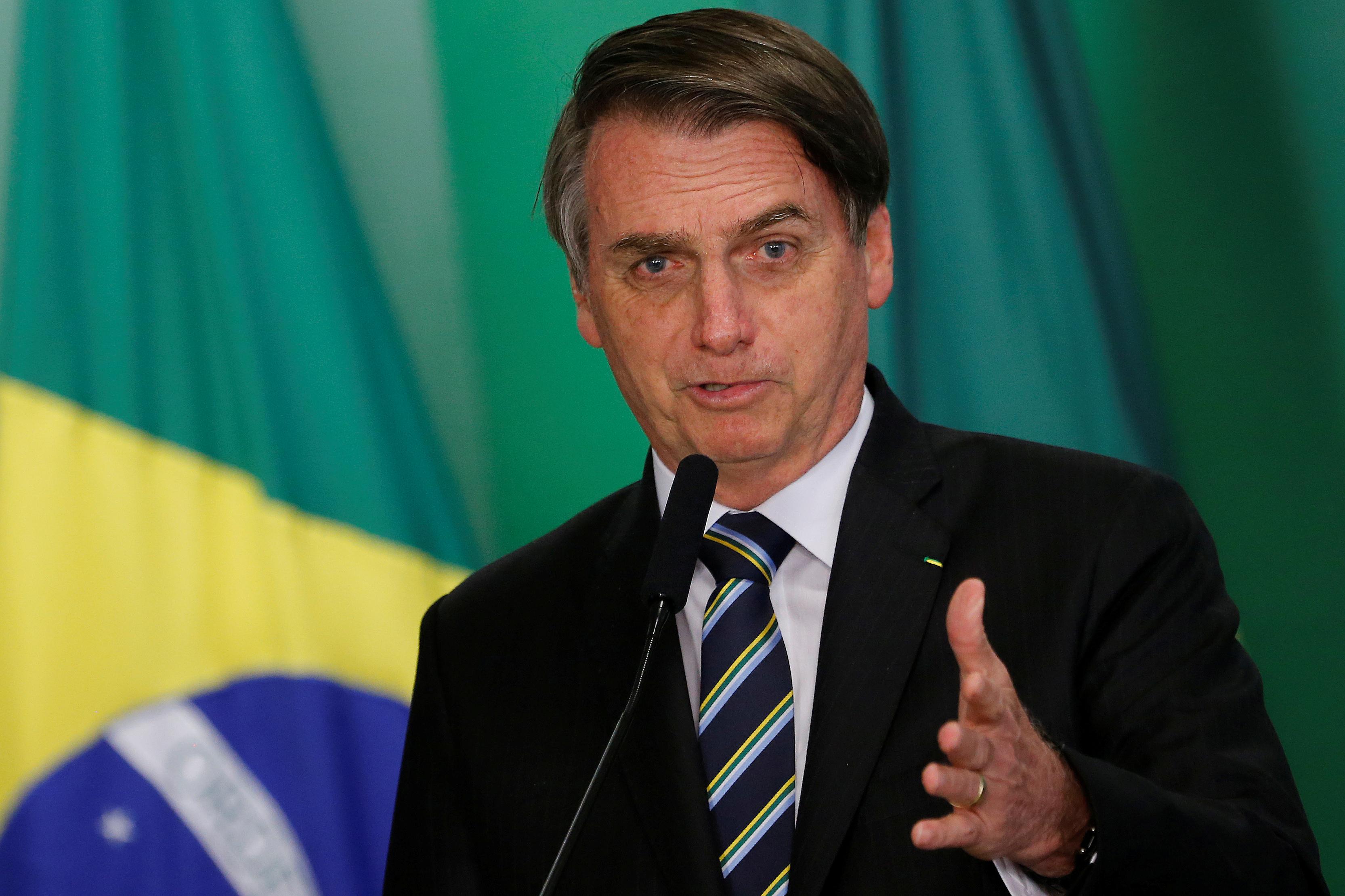 El presidente de Brasil Jair Bolsonaro (REUTERS/Adriano Machado/archivo)