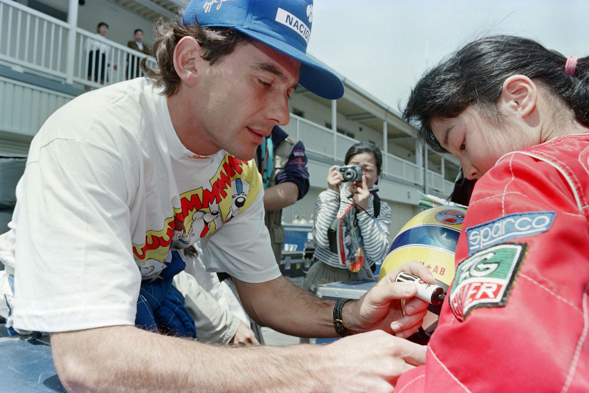 Senna tenía fanáticos en todas partes del mundo
