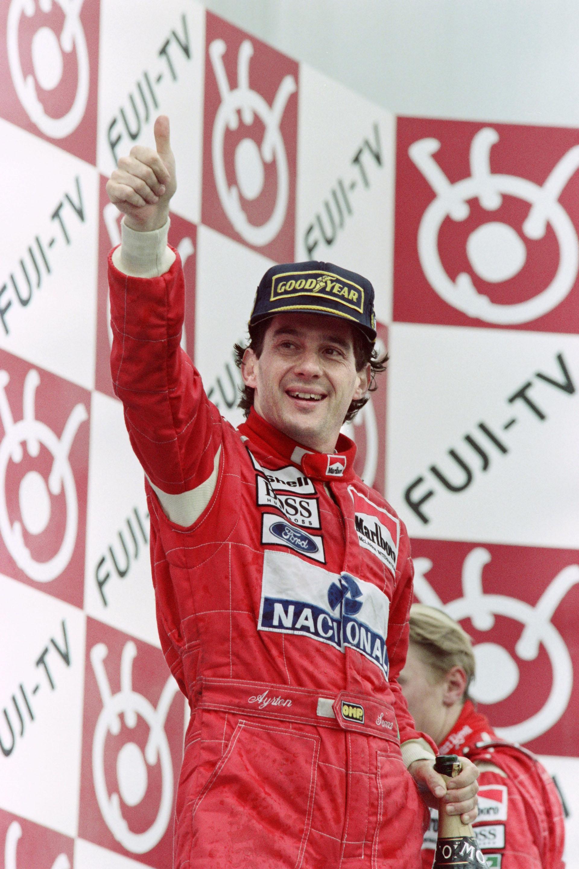 Ganador del Gran Premio de Japón, en el circuito de Suzuka 1993, su última temporada arriba del McLaren Honda