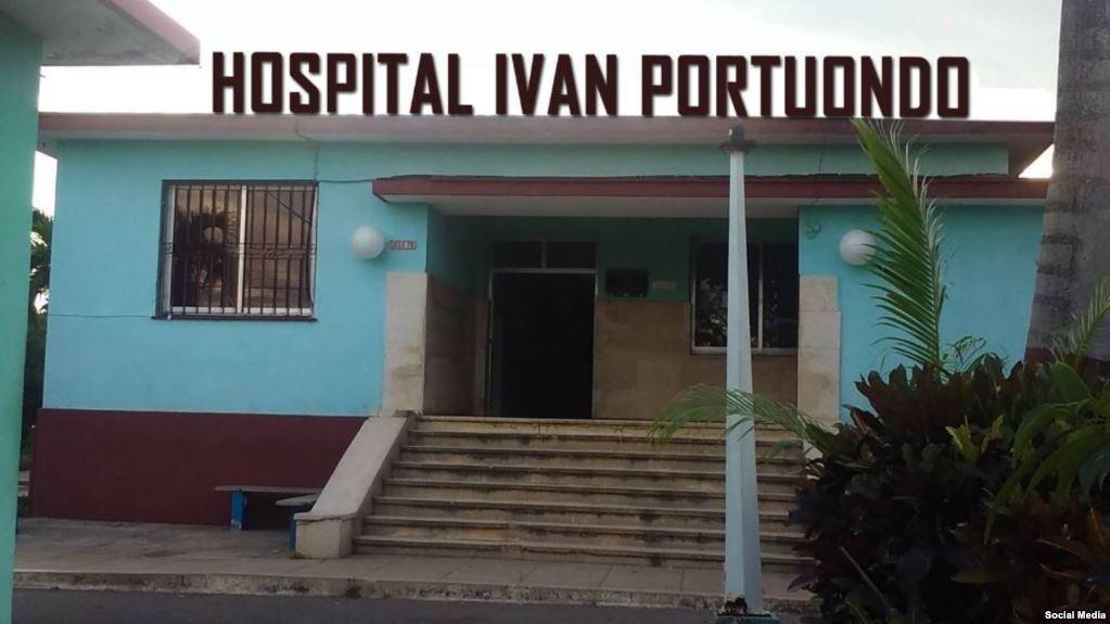 Hospital Iván Portuondo.