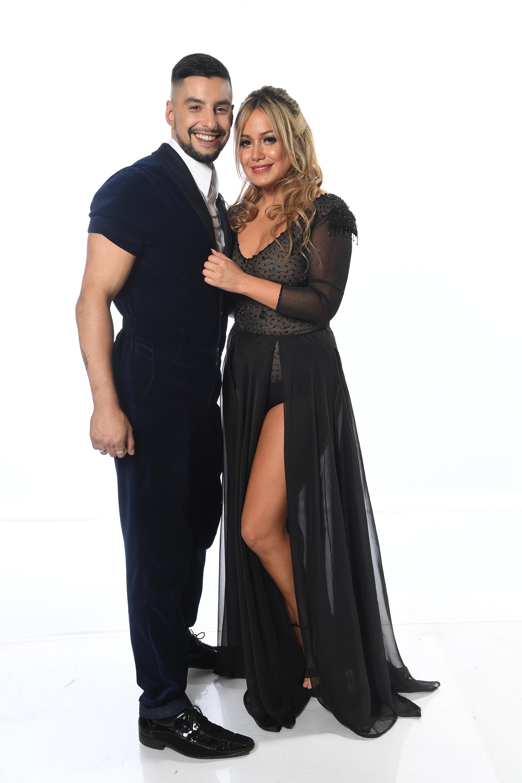 """Damián García y Karina """"La Princesita"""" Tejeda"""