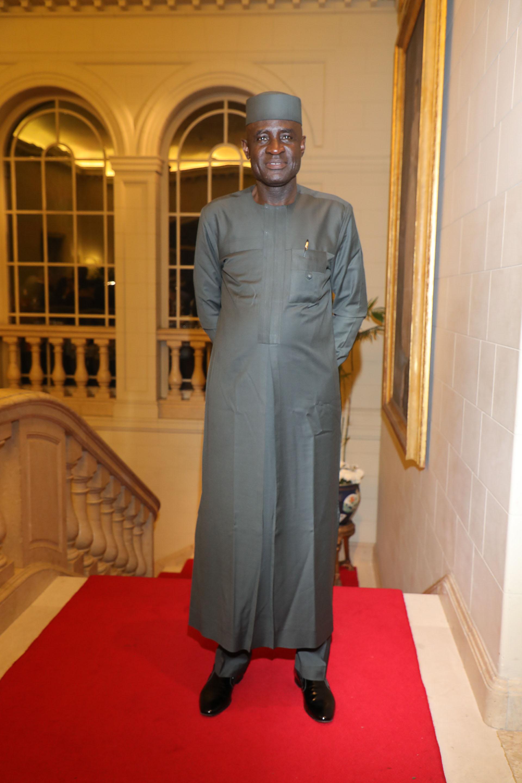 El embajador de Nigeria, Jonah Odo Mkpuruka