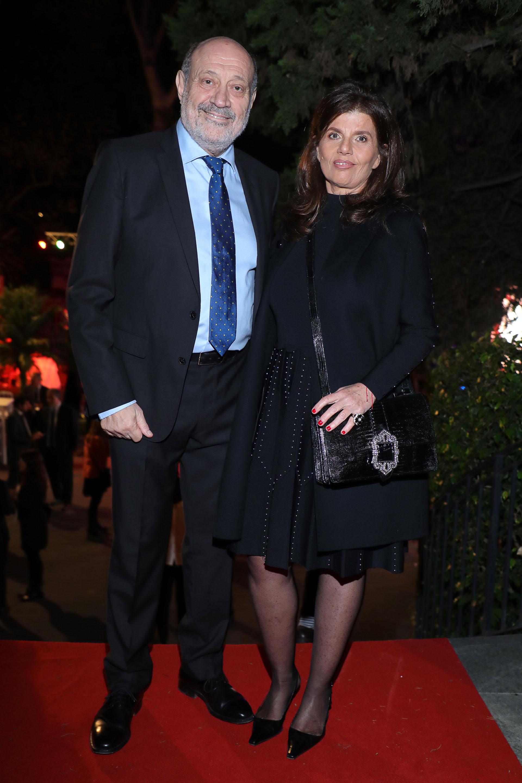 El periodista Alfredo Leuco y su pareja