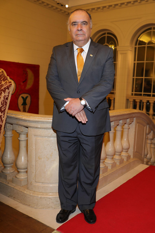 El embajador de Uruguay en la Argentina, Héctor Lescano