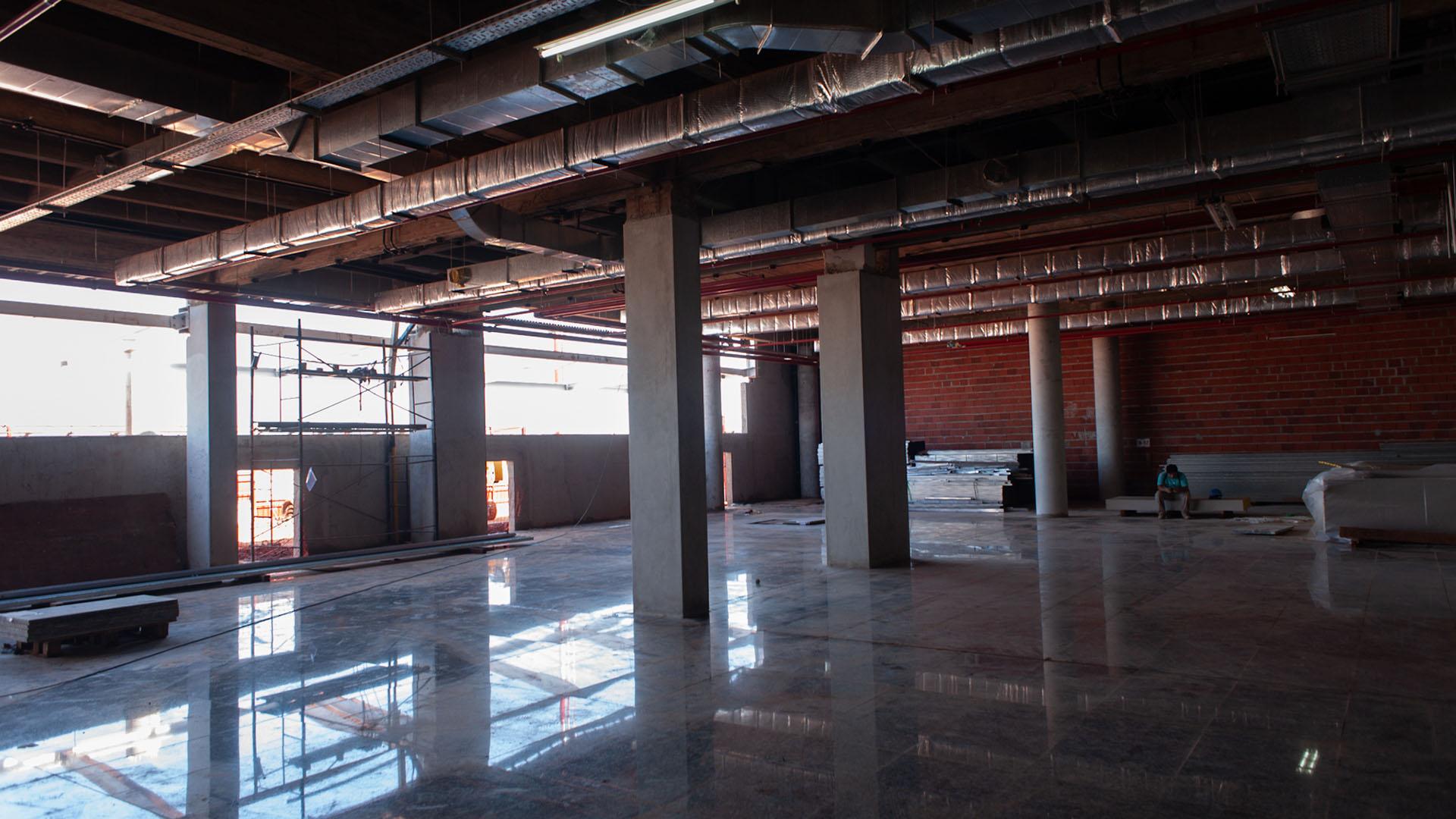 En total, el edificio remodelado tendrá 10.300 m2 (Patricio Murphy)