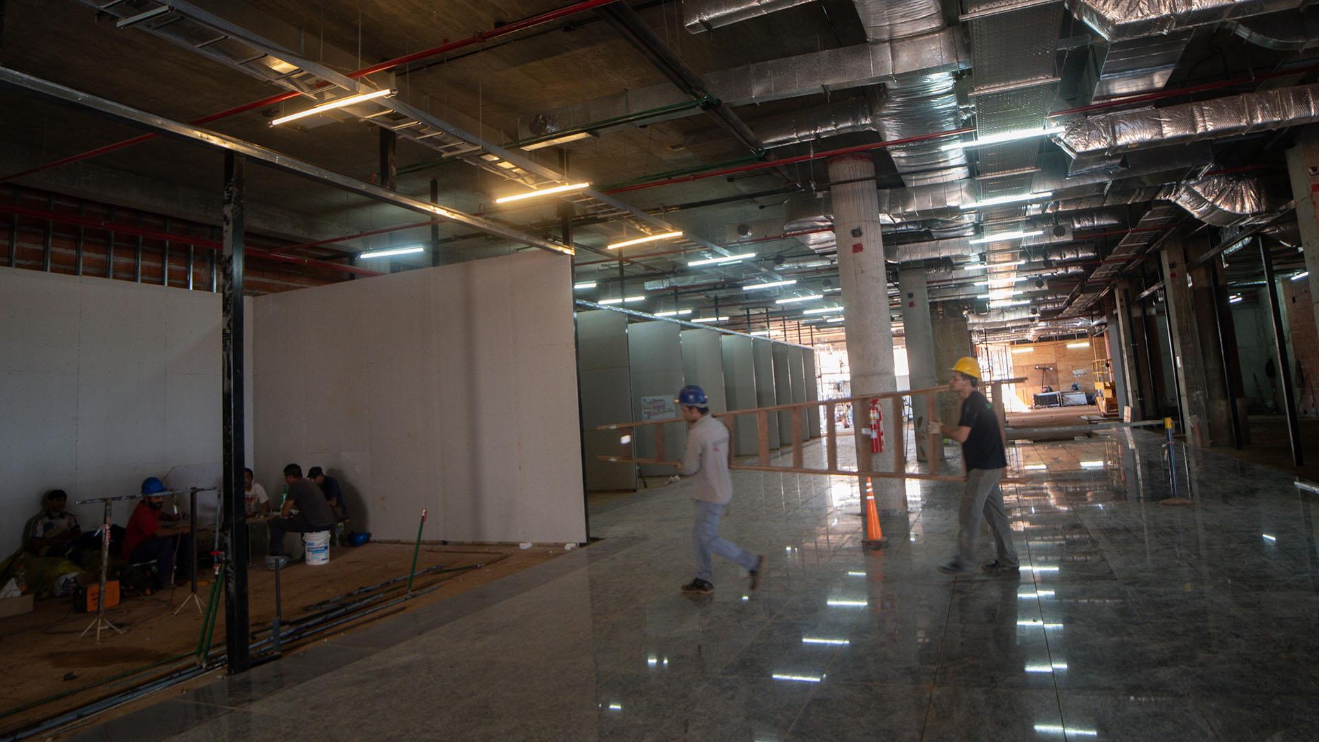 La nueva terminal tendrá 26 nuevos puestos de check-in y 10 de self check-in (Patricio Murphy)