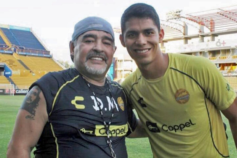 Los padres de Diego Armando Barbosa le pusieron ese nombre a su hijo en honor a Diego Armando Maradona (Foto: Archivo)