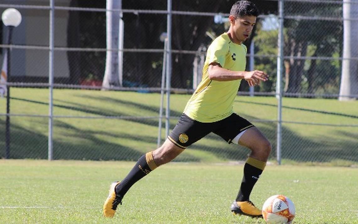 Barbosa Zaragoza debutó profesionalmente en el Ascenso MX en 2018 (Foto: Archivo)