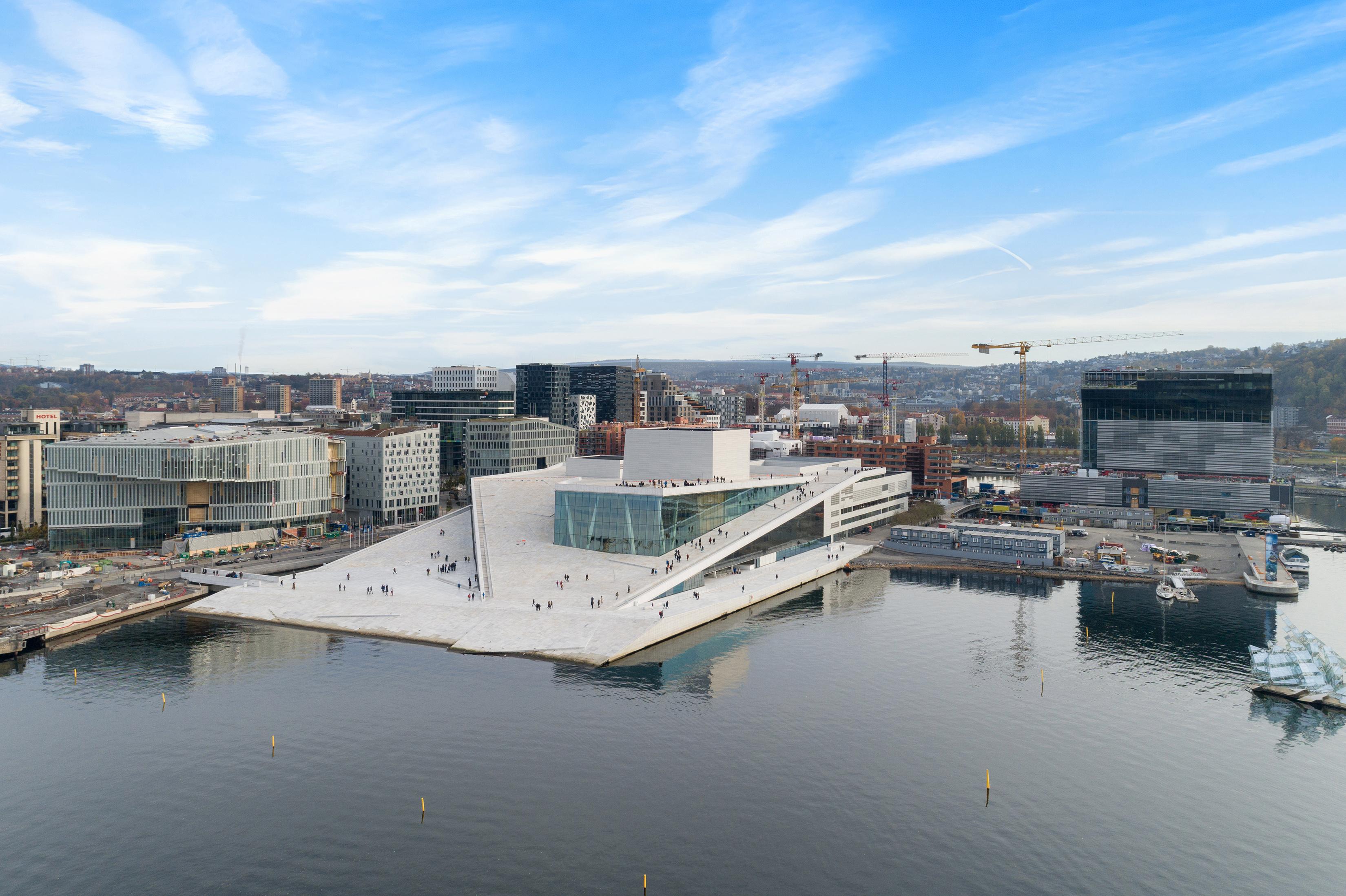 Oslo, Noruega. El país aparentemente se volvió más rico debido al cambio climático. (Alejandro Villanueva/The New York Times)