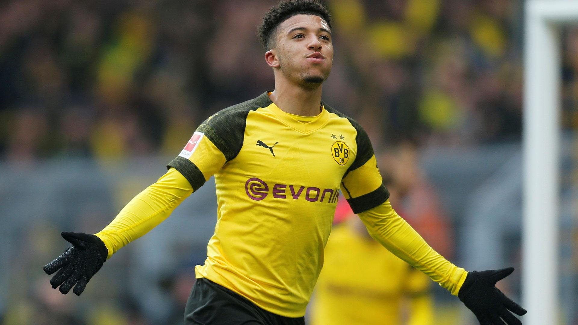 El inglés Jadon Sancho (Borussia Dortmund) USD 212 millones