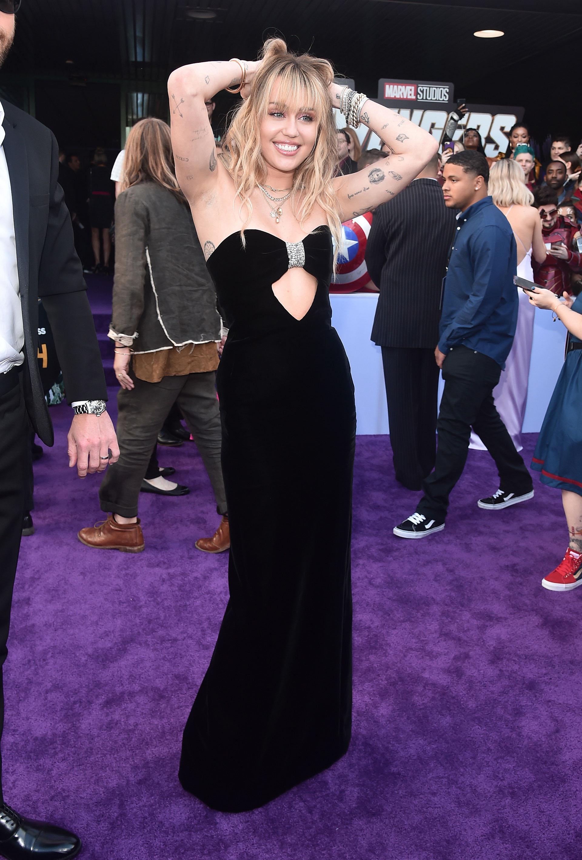 Miley Cyrus es fanática de Los Vengadores