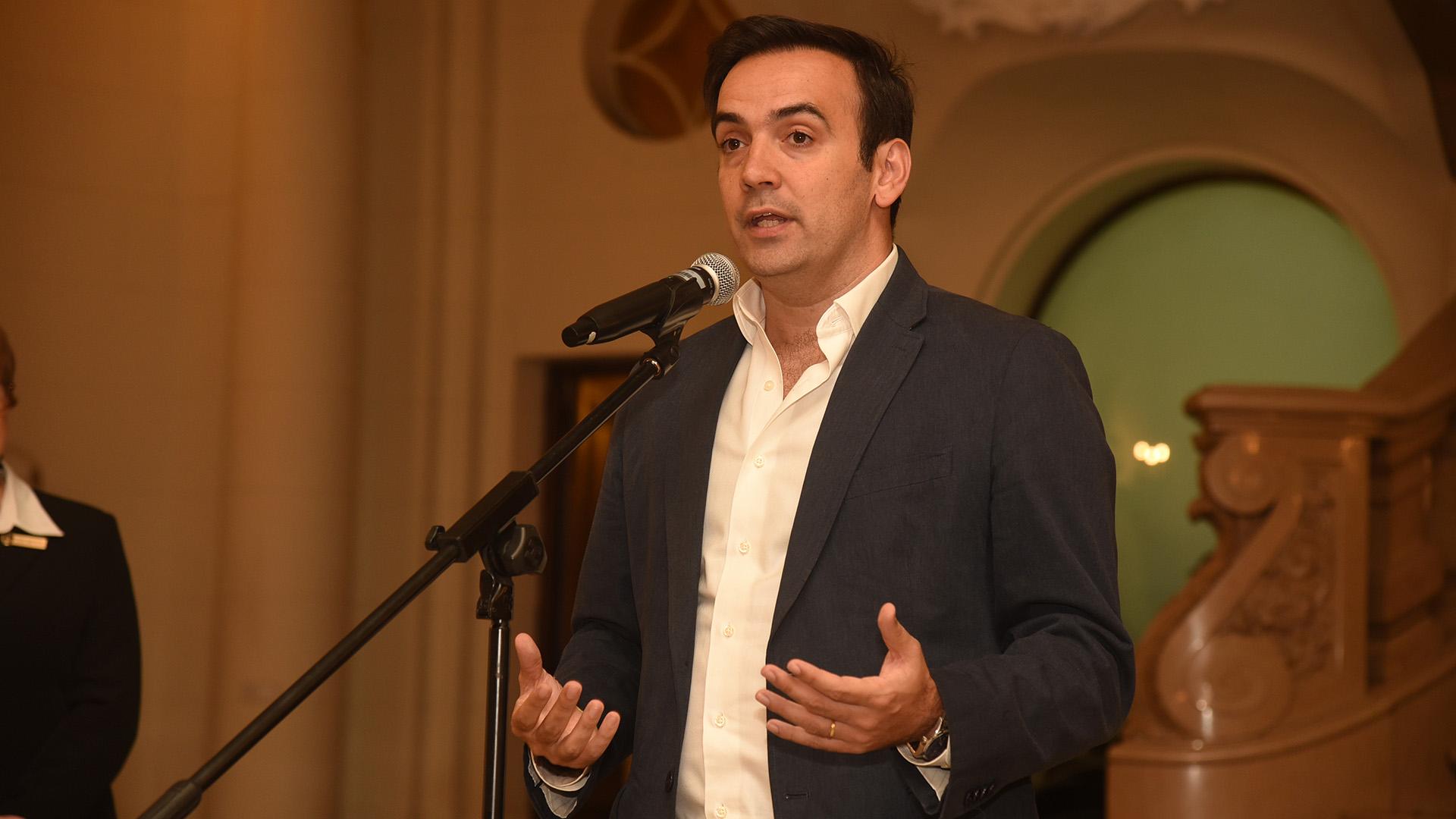 El diputado Francisco Quintana, vicepresidente de la Legislatura porteña, presidió la ceremonia de inauguración de la muestra BAxA Buenos Acciones x Argentinos, que cuenta con un importante compromiso social