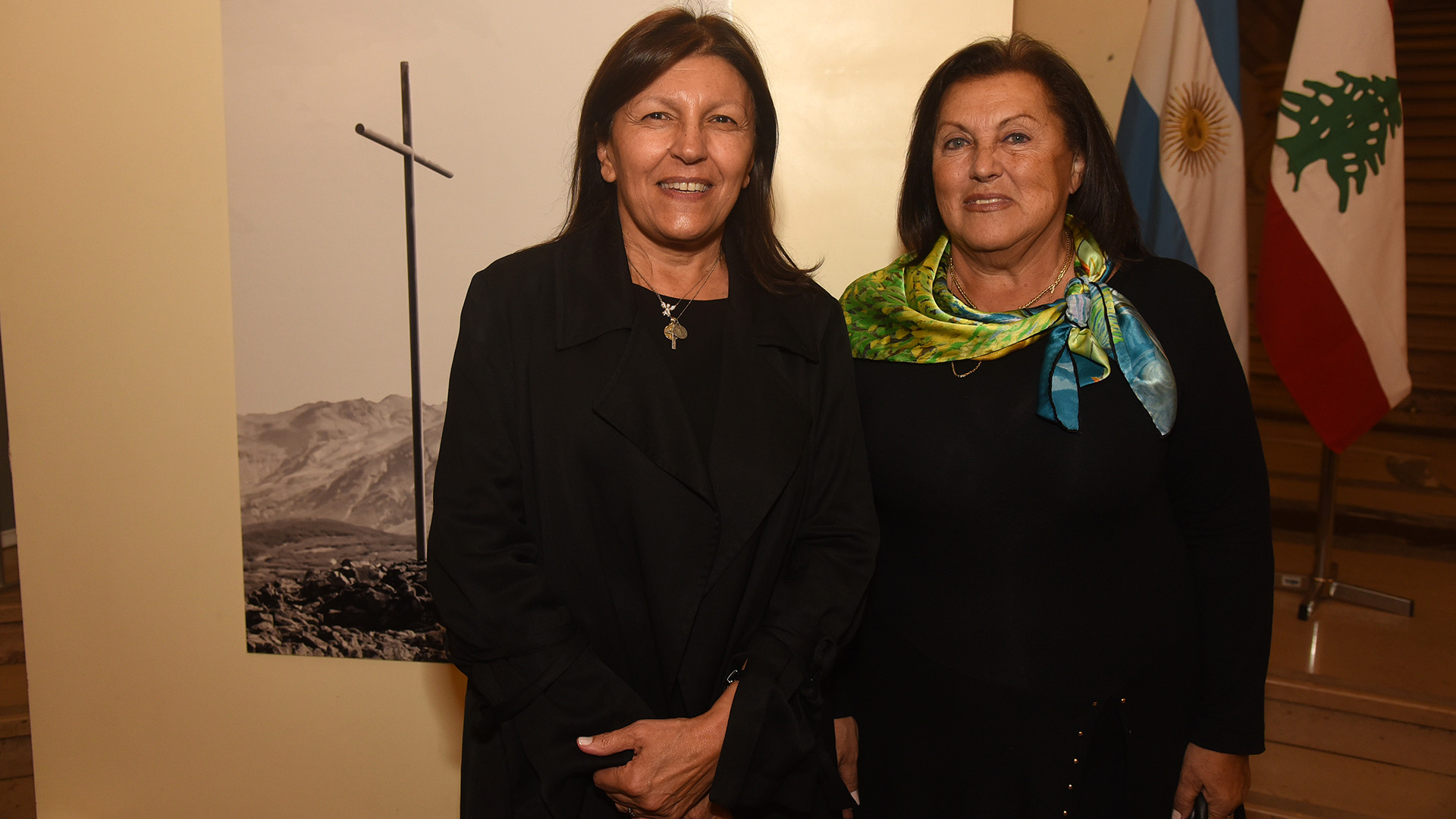Alicia Daher y la ex diputada Lidia Naim