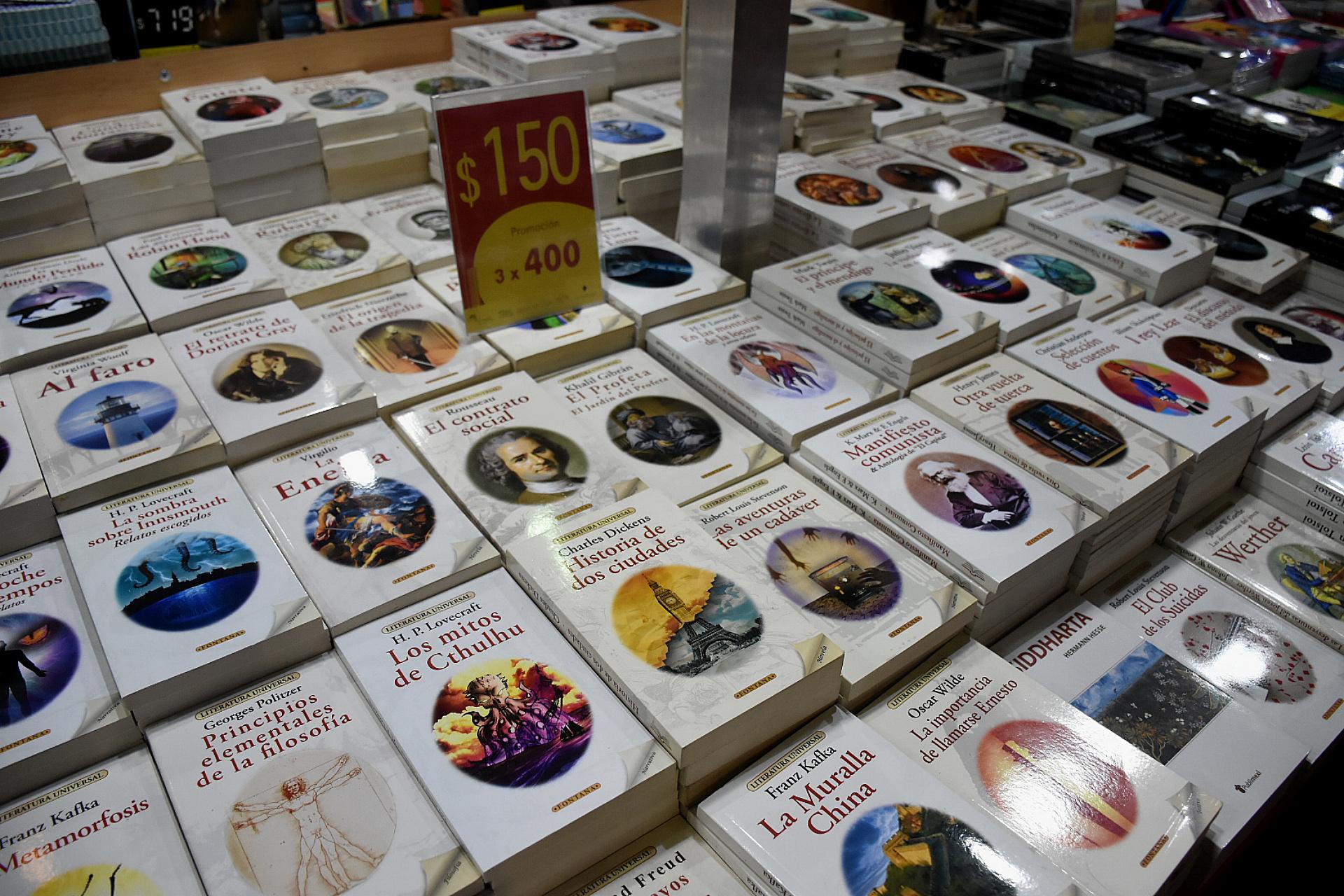 Marx, Lovecraft y Kafka a $150 o 3 x $400 (Nicolás Stulberg)