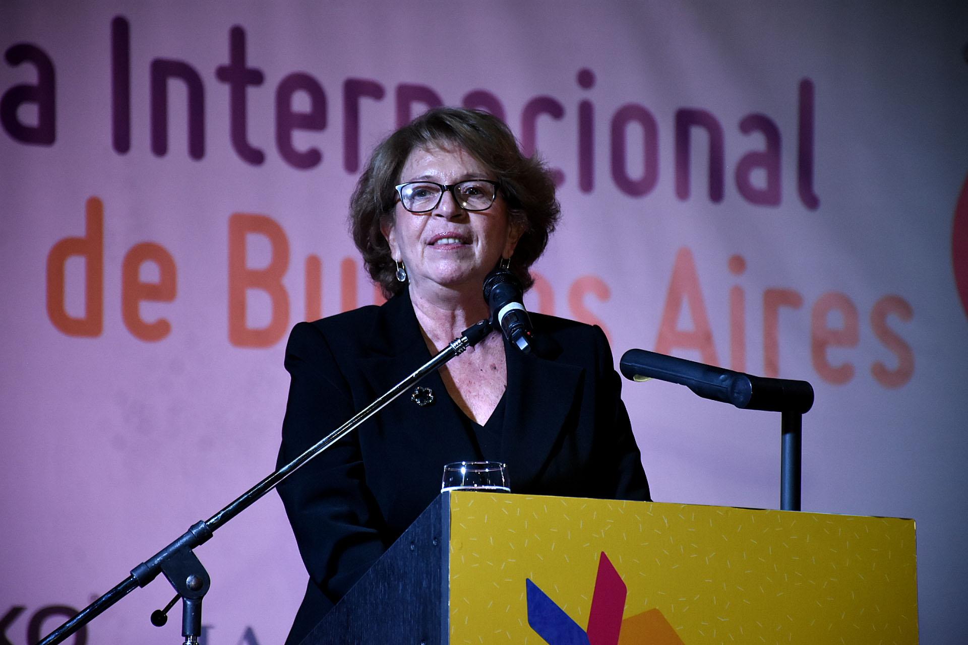 María Teresa Carbano, presidenta de la Fundación El Libro (Nicolás Stulberg)