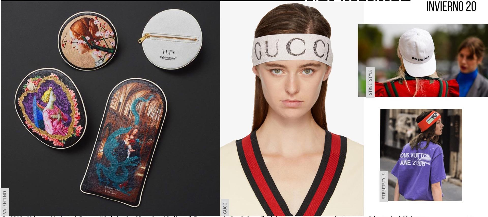 Capas sobre capas, satinados y excesos, como los accesorios de Gucci inspirados en la obra del artista argentino Eduardo Costa, Camp trend .