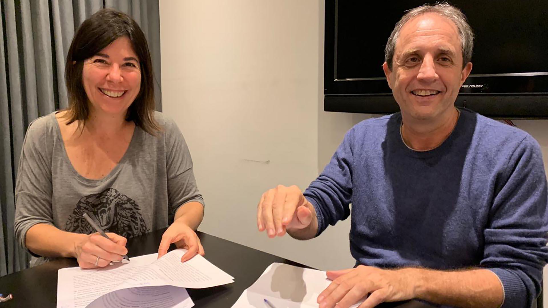 """María O'Donnell y Ernesto Tenembaum firmaron contrato para conducir, a partir del 6 de mayo """"Corea del Centro"""", de lunes a jueves por Net TV"""