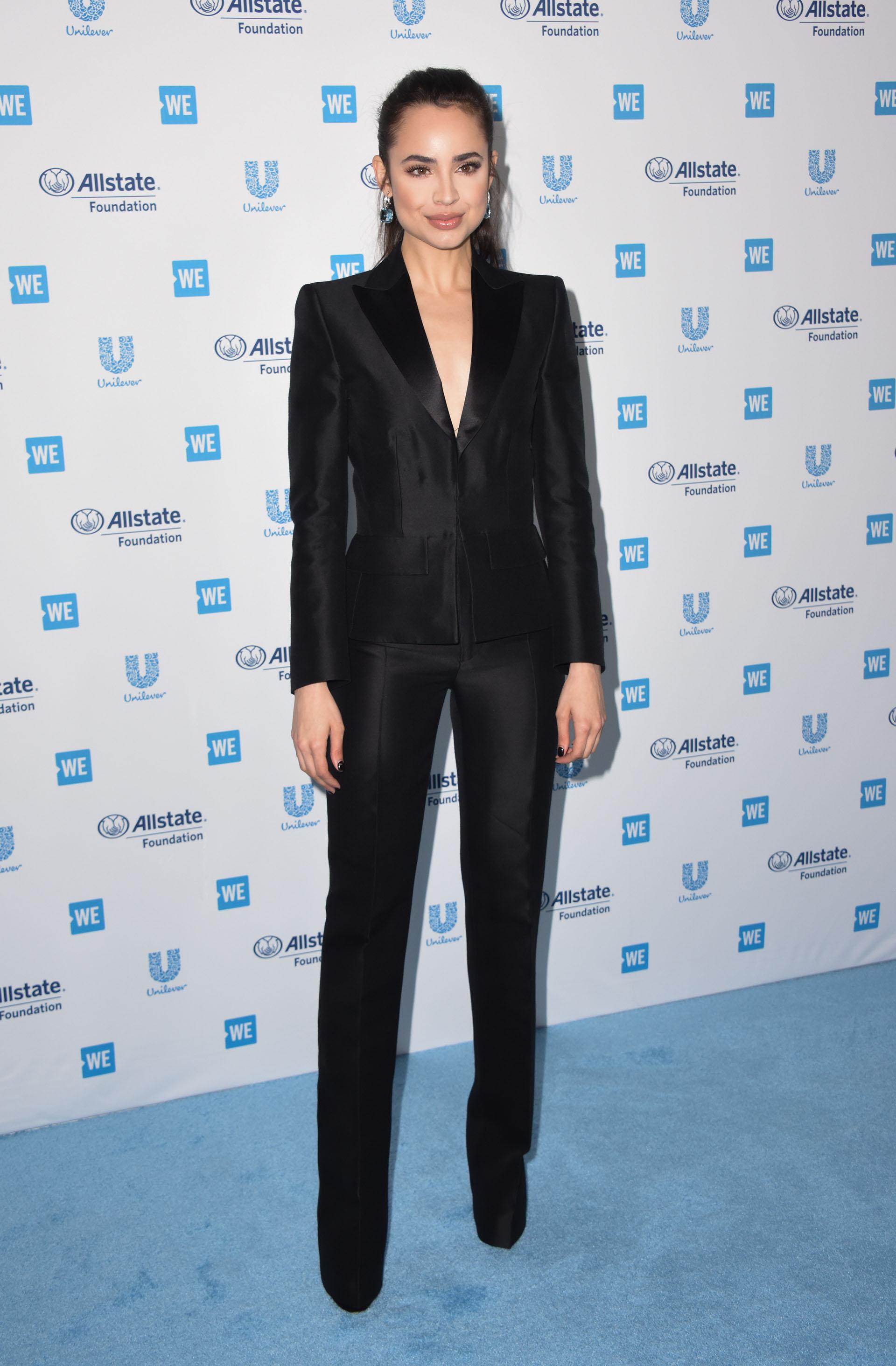 Sofia Carson y el estilismo más elegante /// Fotos: AFP