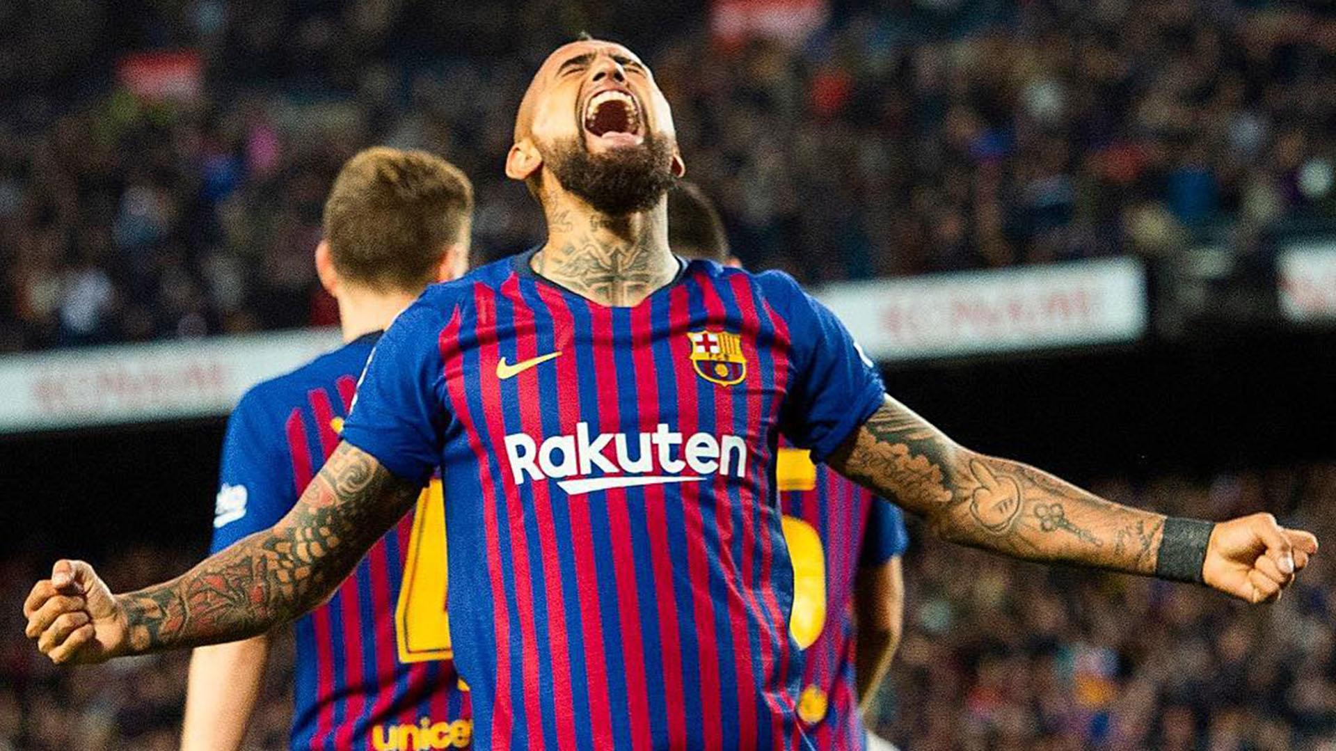 Arturo Vidal, el 'Rey' de las Ligas: consiguió un récord inédito al ser campeón con el Barcelona - Infobae