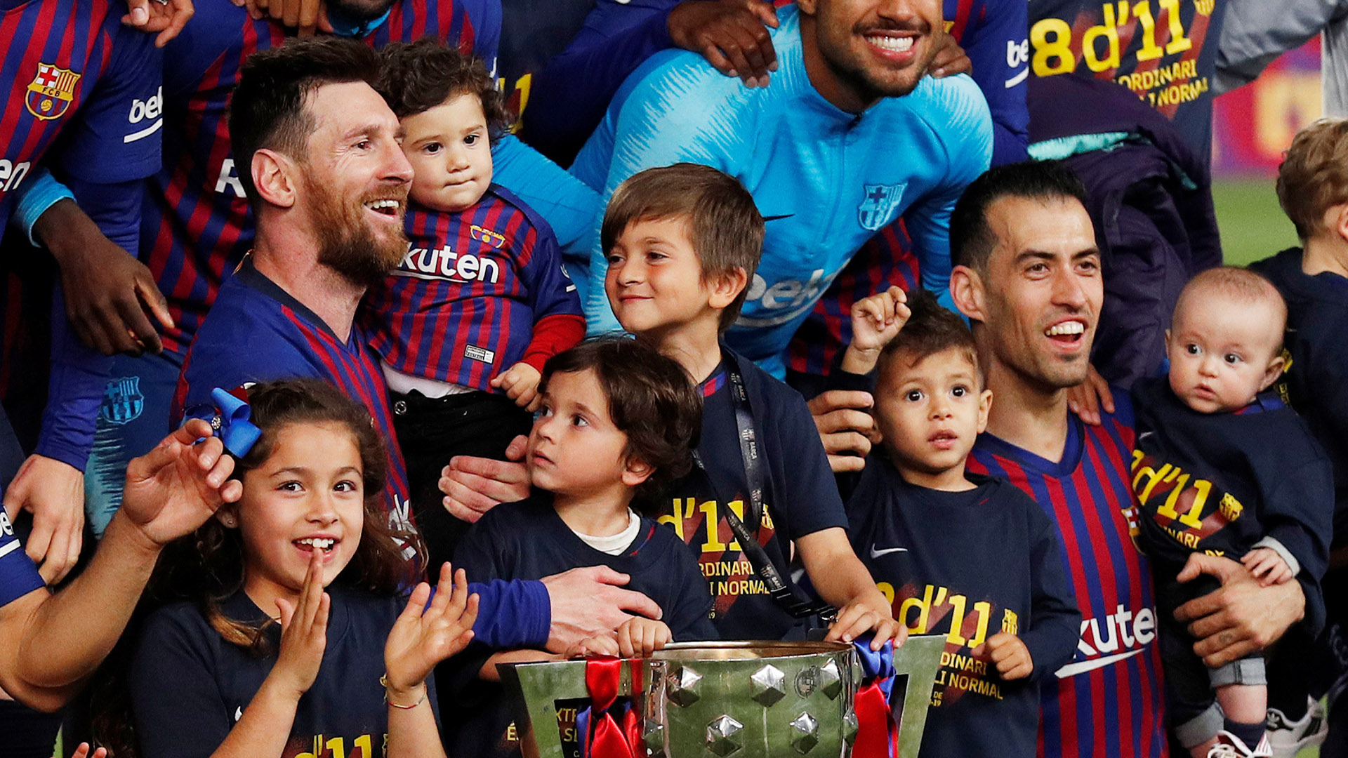 Barcelona viene de conquistar el título de campeón de la Liga (Foto: Reuters)