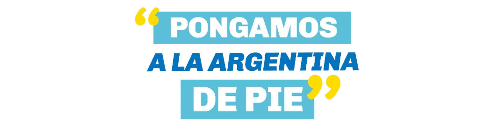Políticos en el recreo - Sergio Massa - Sticker - Pongamos a la argentina de pie