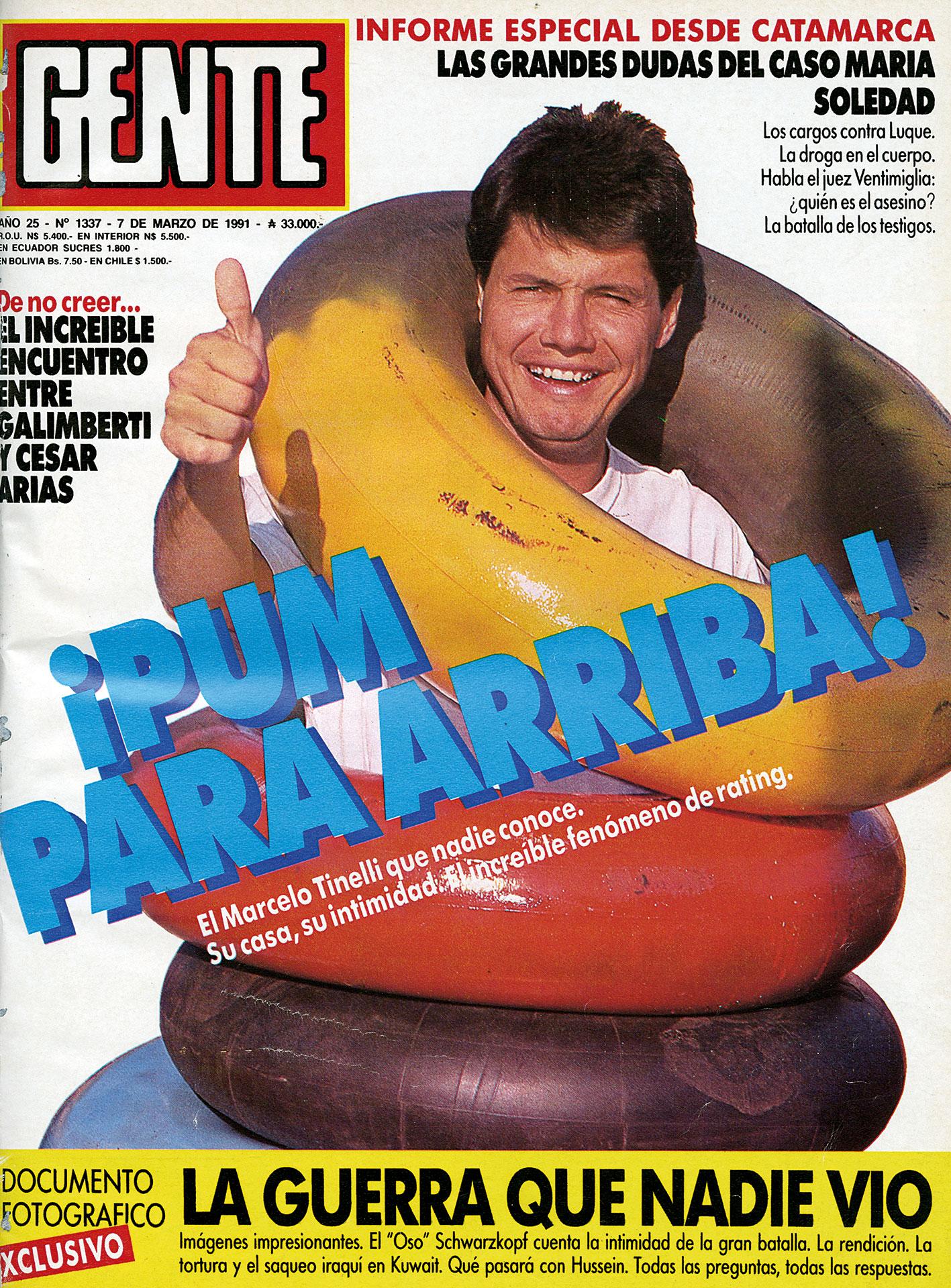 """Otra de 1991: la intimidad del """"fenómeno del rating""""."""