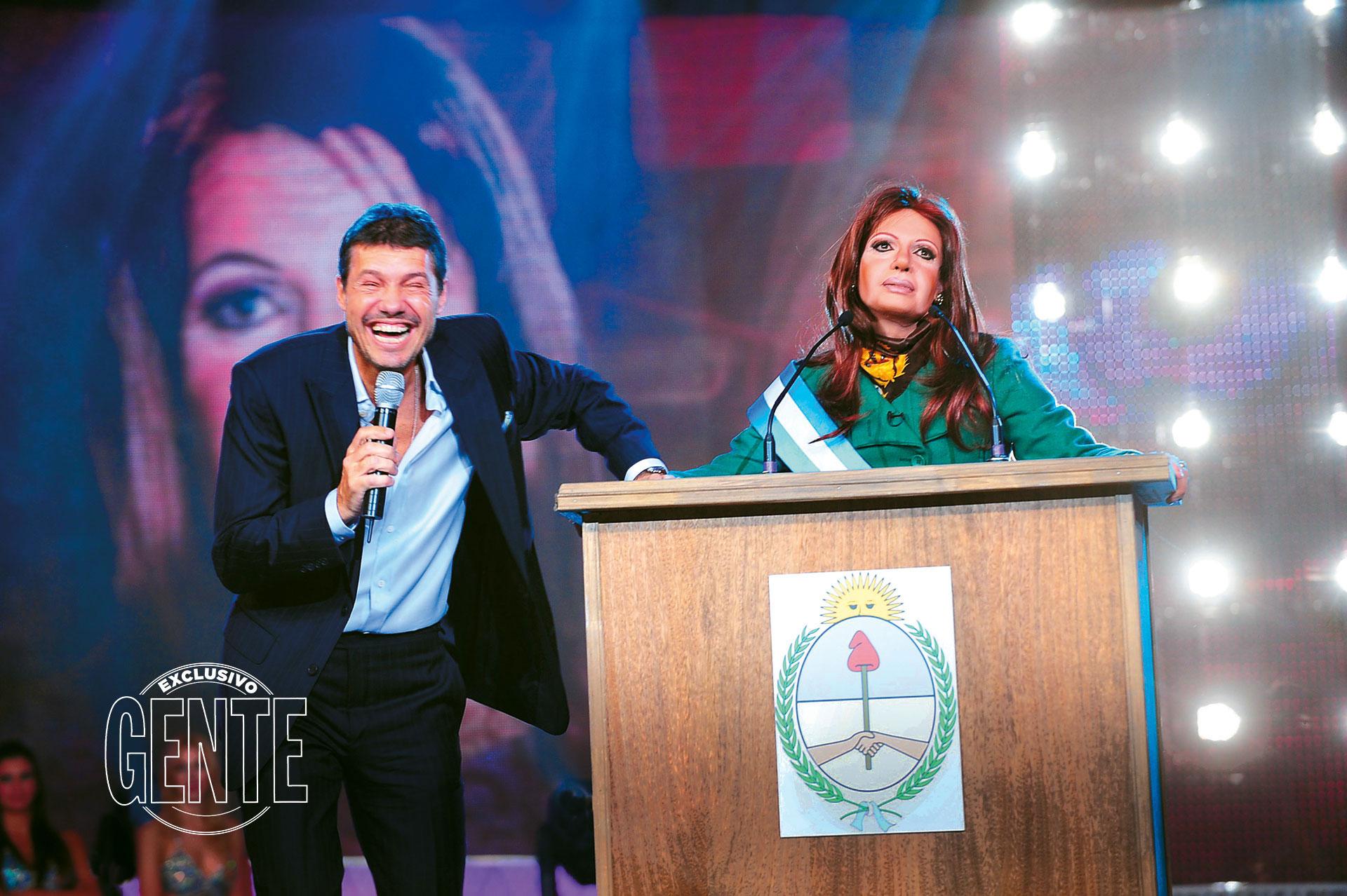En 2001 estrenó el reality paródico Gran Cuñado, por donde circularon, siguiendo el estilo intimista de la casa del Gran Hermano, los distintos políticos del momento. Entre ellos Cristina Fernández de Kirchner.