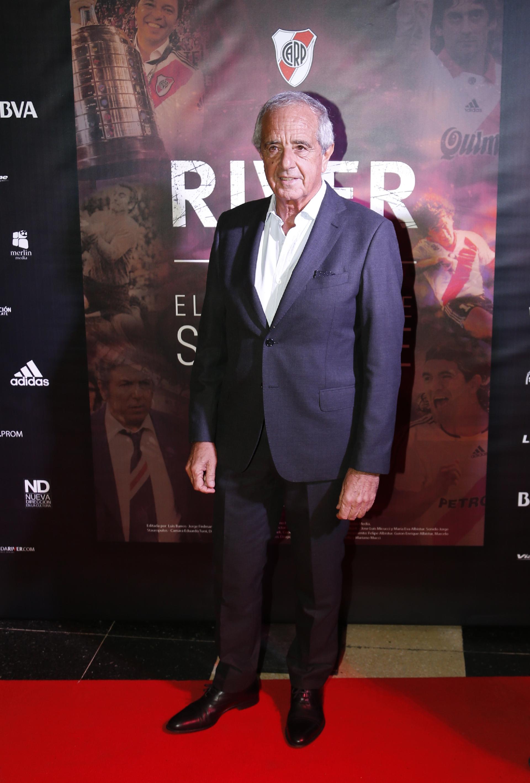 """Rodolfo D'Onofrio, presidente de River desde diciembre de 2013, fue el anfitrión de una velada especial para todos los hinchas de la """"Banda"""""""