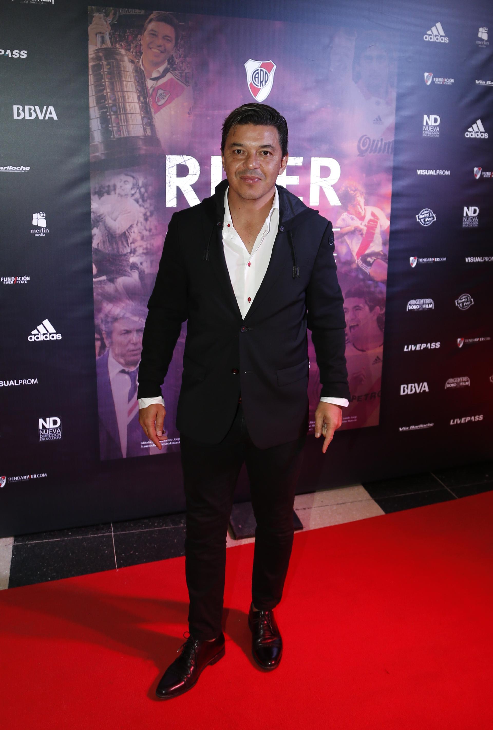 Marcelo Gallardo, quien aportó nueve títulos desde que asumió en 2014, repasó su vida ligada a River en el documental