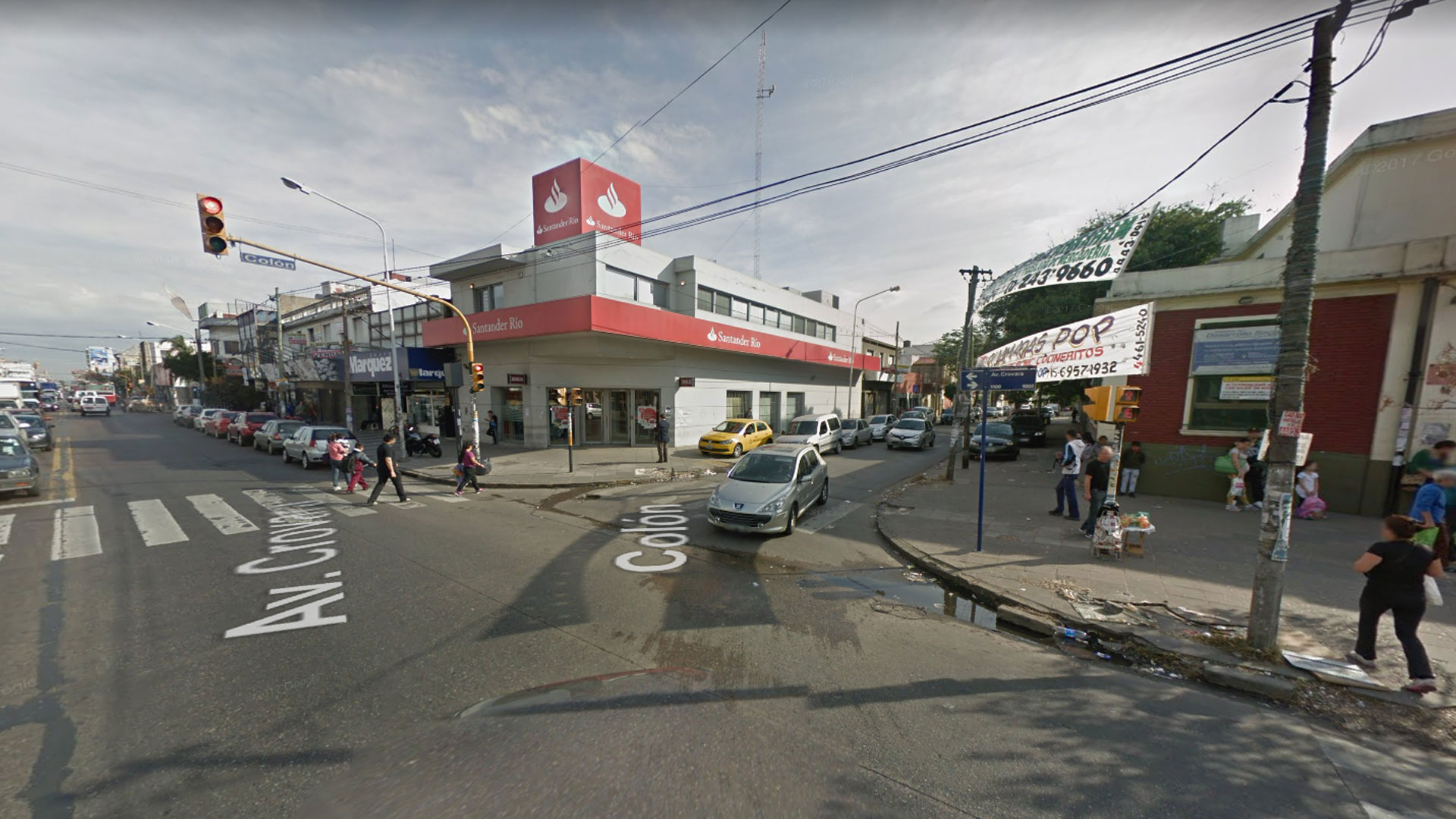 Sucursal del Banco Santander Río de La Tablada