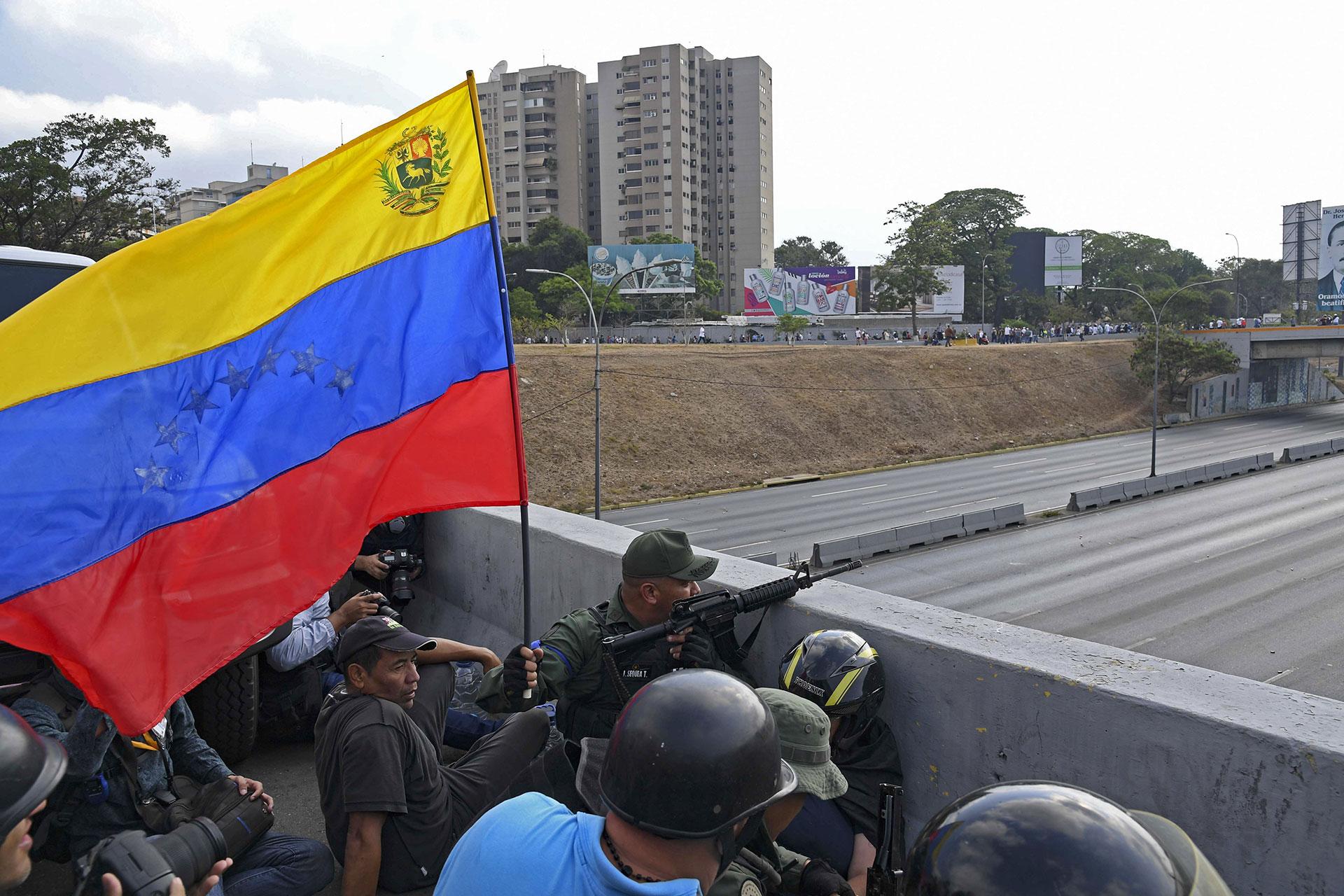 El anuncio del presidente interino Juan Guaidódel lanzamiento de la etapa final del Operación Libertad fue celebrado por las principales naciones del mundo.