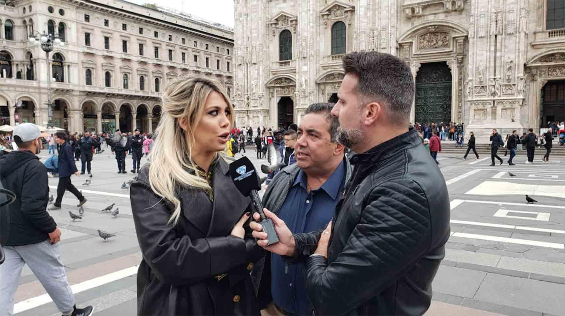 """El """"Insoportable"""", desde Milán con Diego Pérez, José María Listorti y Wanda Nara de invitada."""