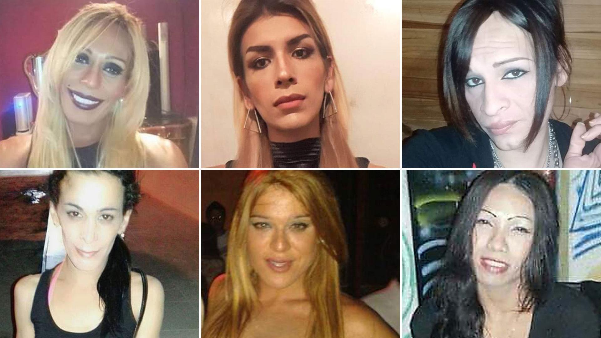 Erica Camila Prizu (Salta), Guti de Libertador San Martín (Jujuy), Marisol Espíndola (Corrientes), Mirna Antonella Di Marzo (Salta), Mariana Carolina Muñoz (Mendoza), Laly Rufino (Buenos Aires)