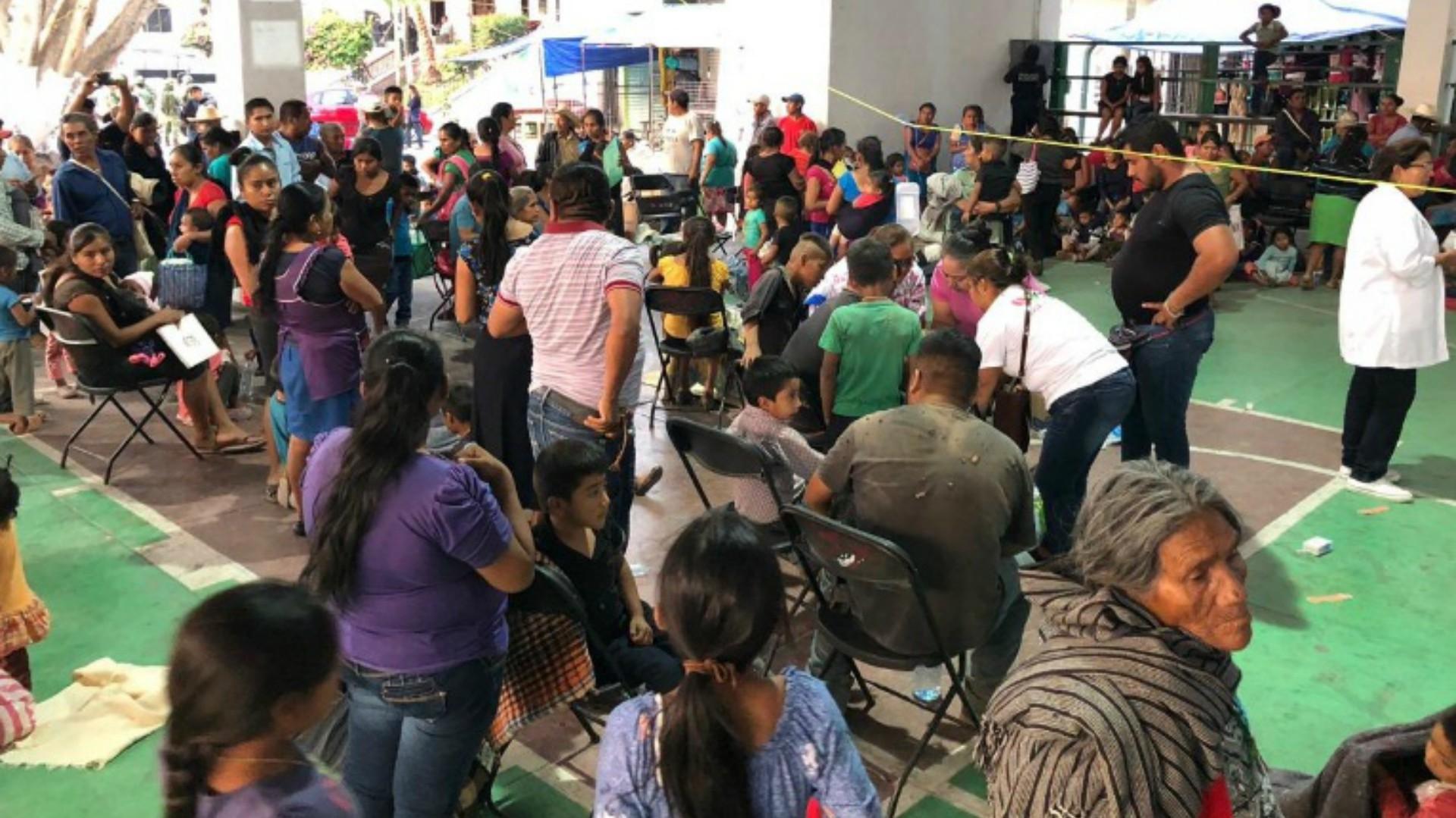 Las intoxicaciones ocurrieron durante los festejos del día del niño (Foto: Twitter – Héctor Astudillo)