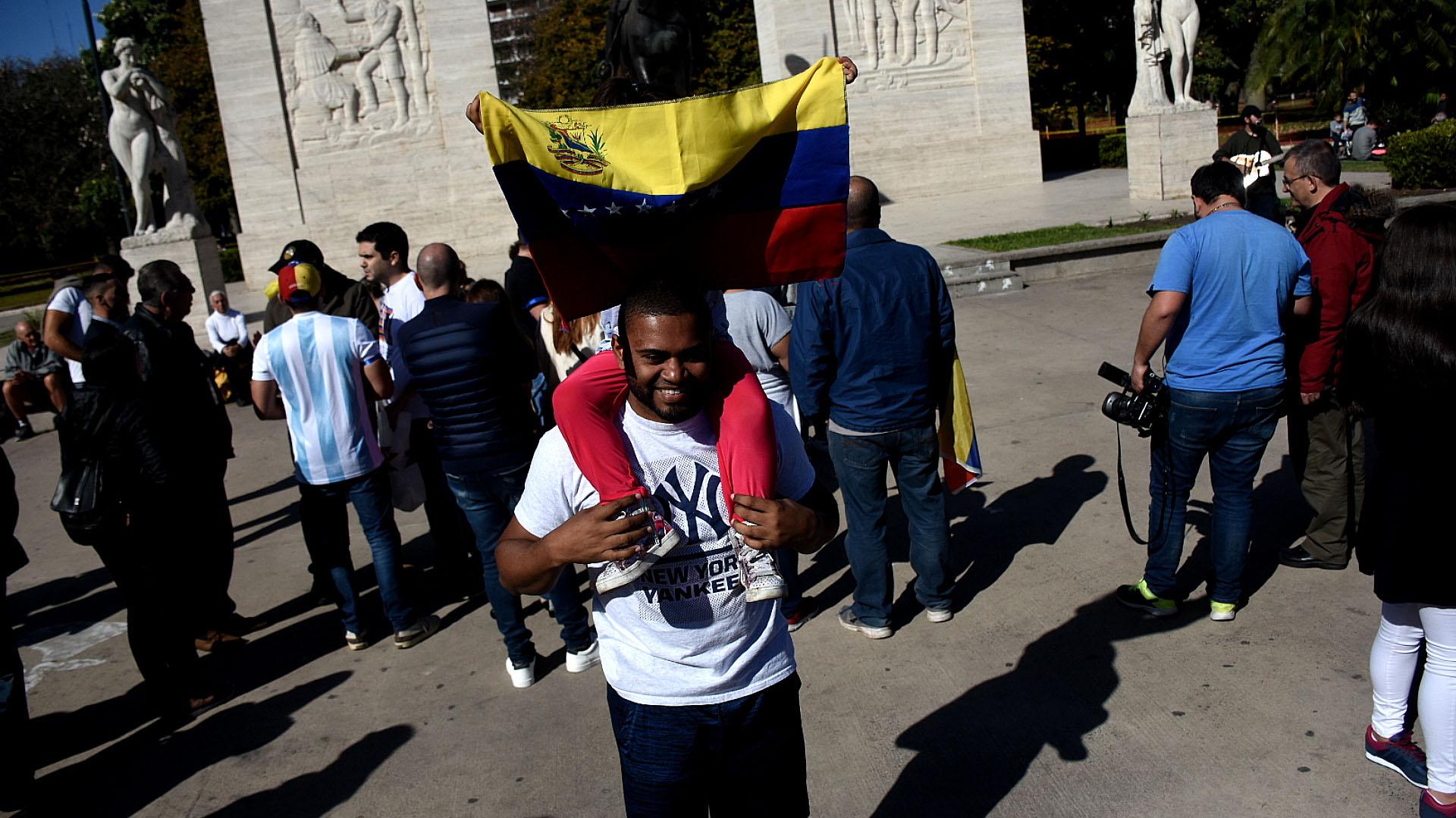 Miles de venezolanos llegaron a la Argentina huyendo de la crisis económica, social y política con el régimen de Nicolás Maduro