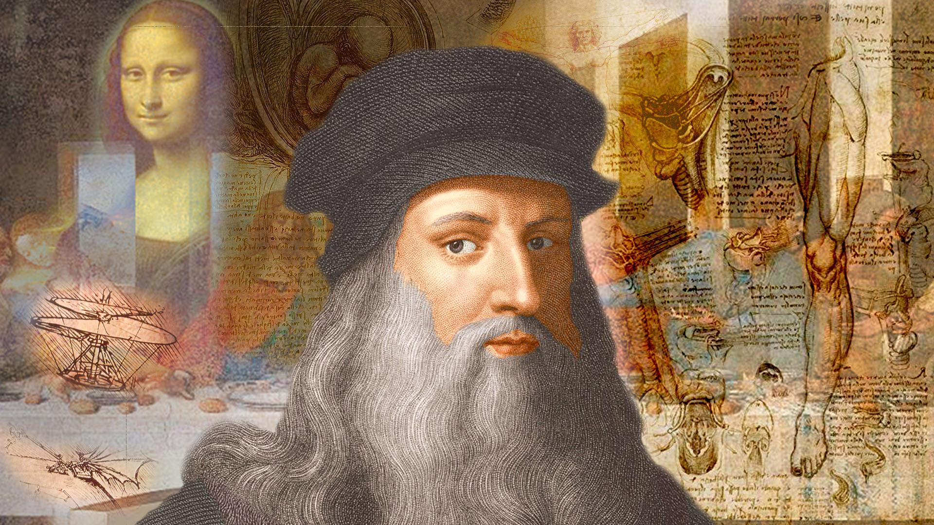 Leonardo Da Vinci, una de las mentes más brillantes de la historia de la humanidad