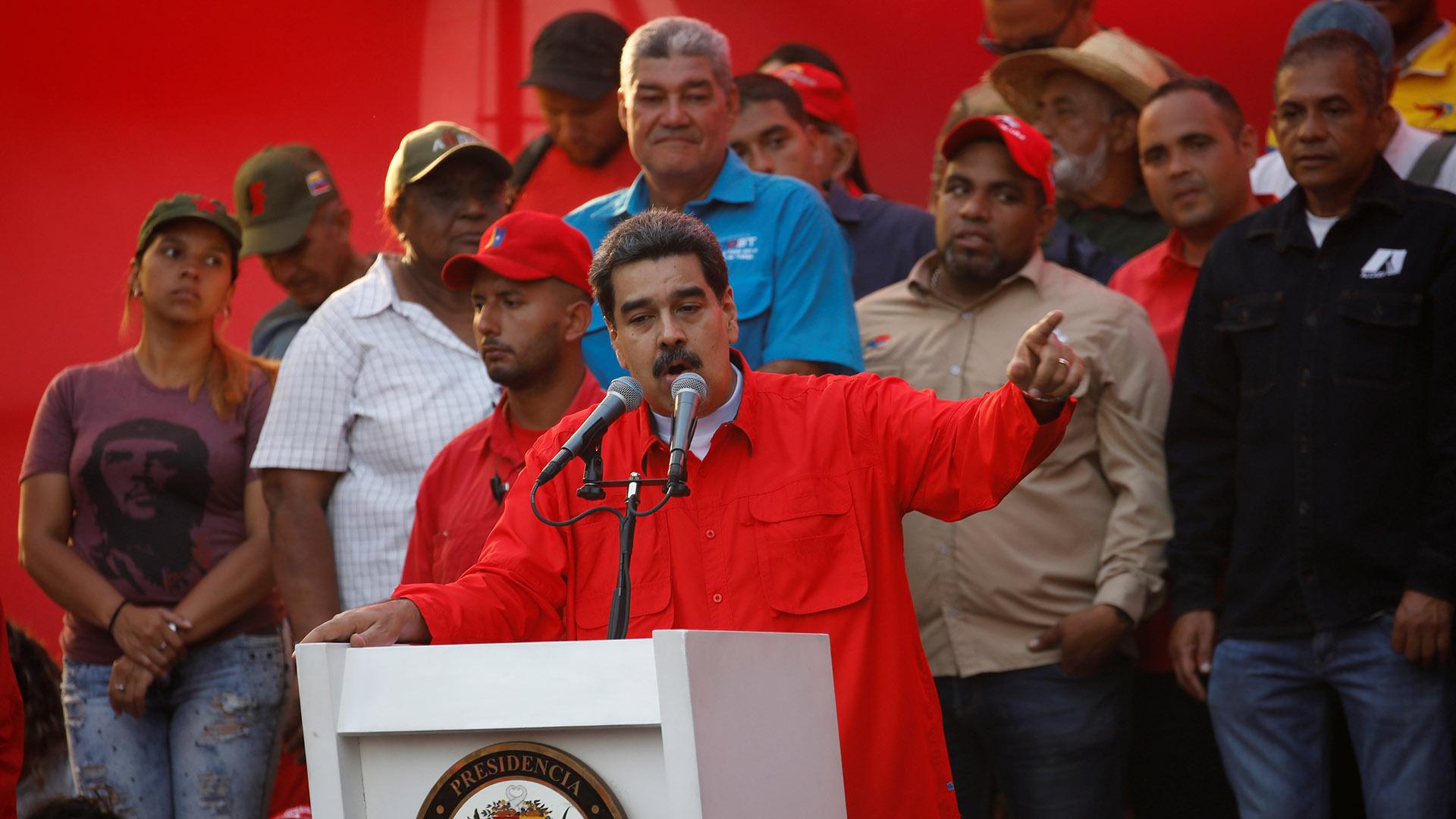 Maduro acusó a EEUU de orquestar la Operación Libertad en su contra(REUTERS/Fausto Torrealba)