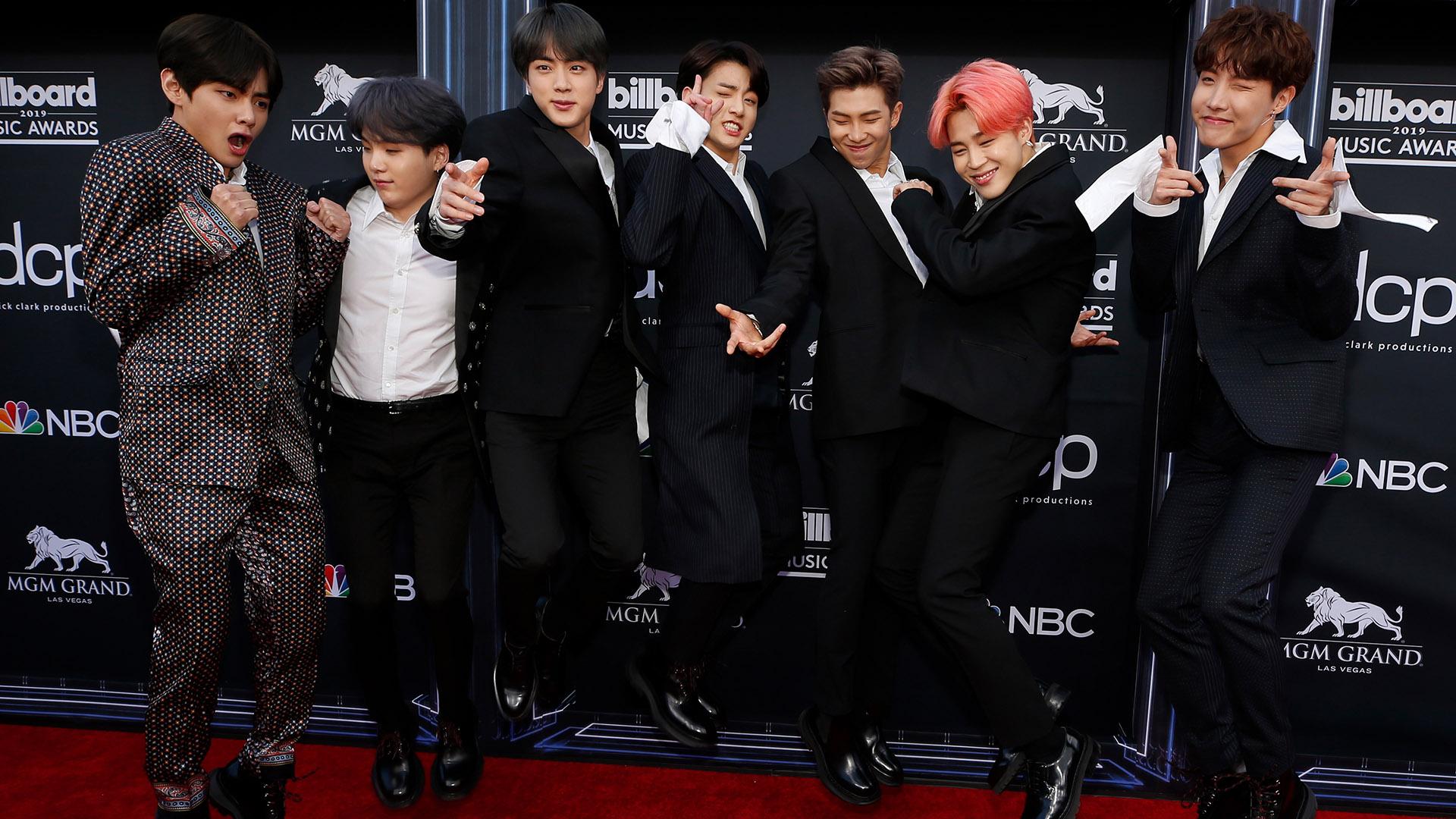 BTS (REUTERS/Steve Marcus)