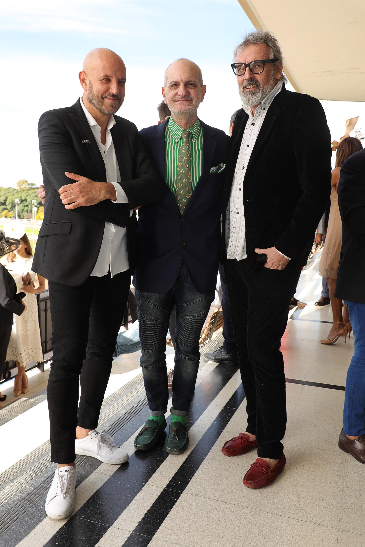 Fabián Zitta, Laurencio Adot y Benito Fernández