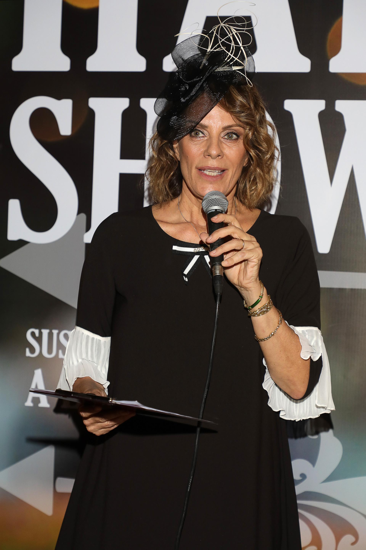 Nequi Galotti estuvo a cargo de la conducción del Hat Show