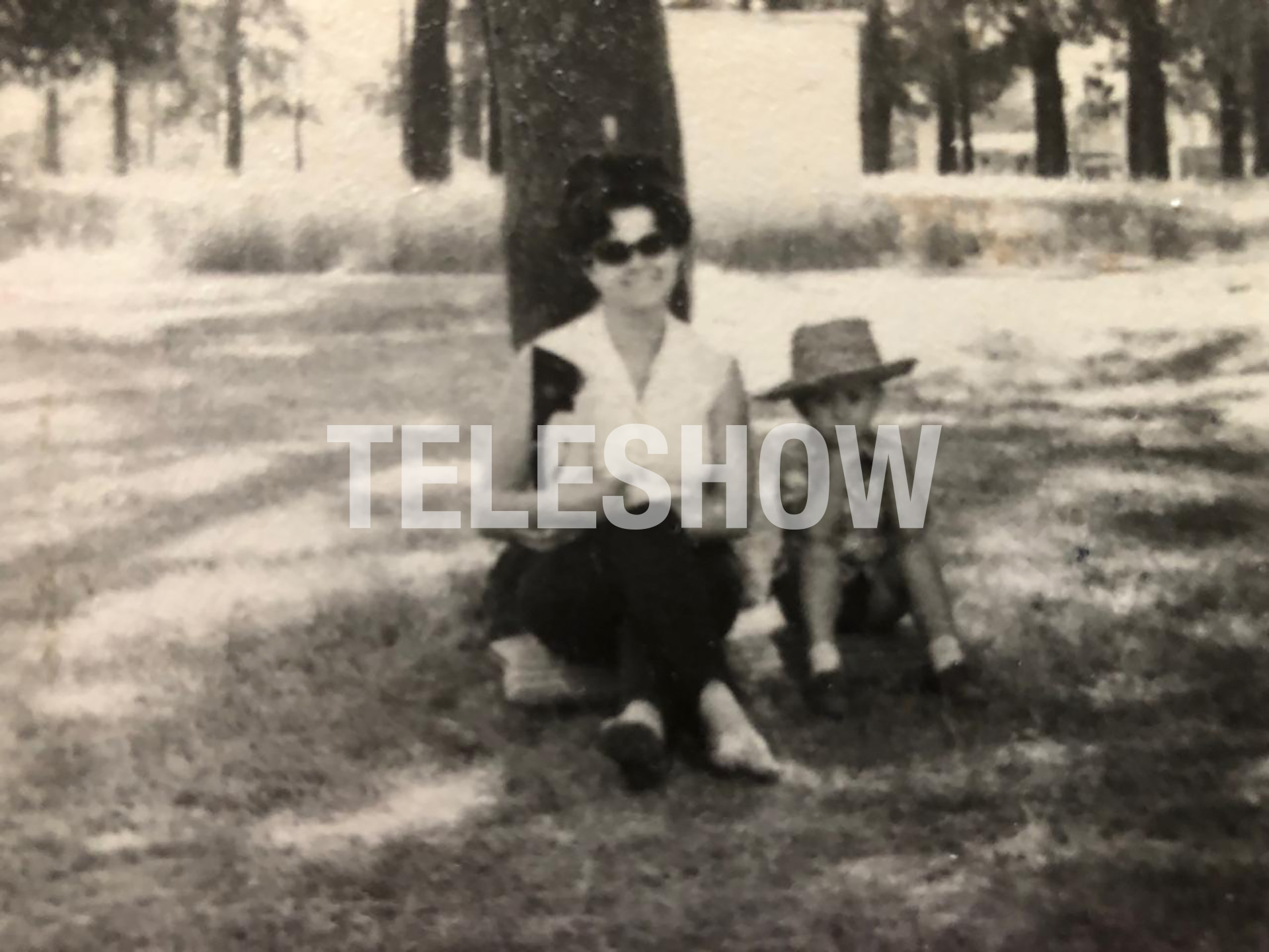Sergio Lapegüe con su mamá
