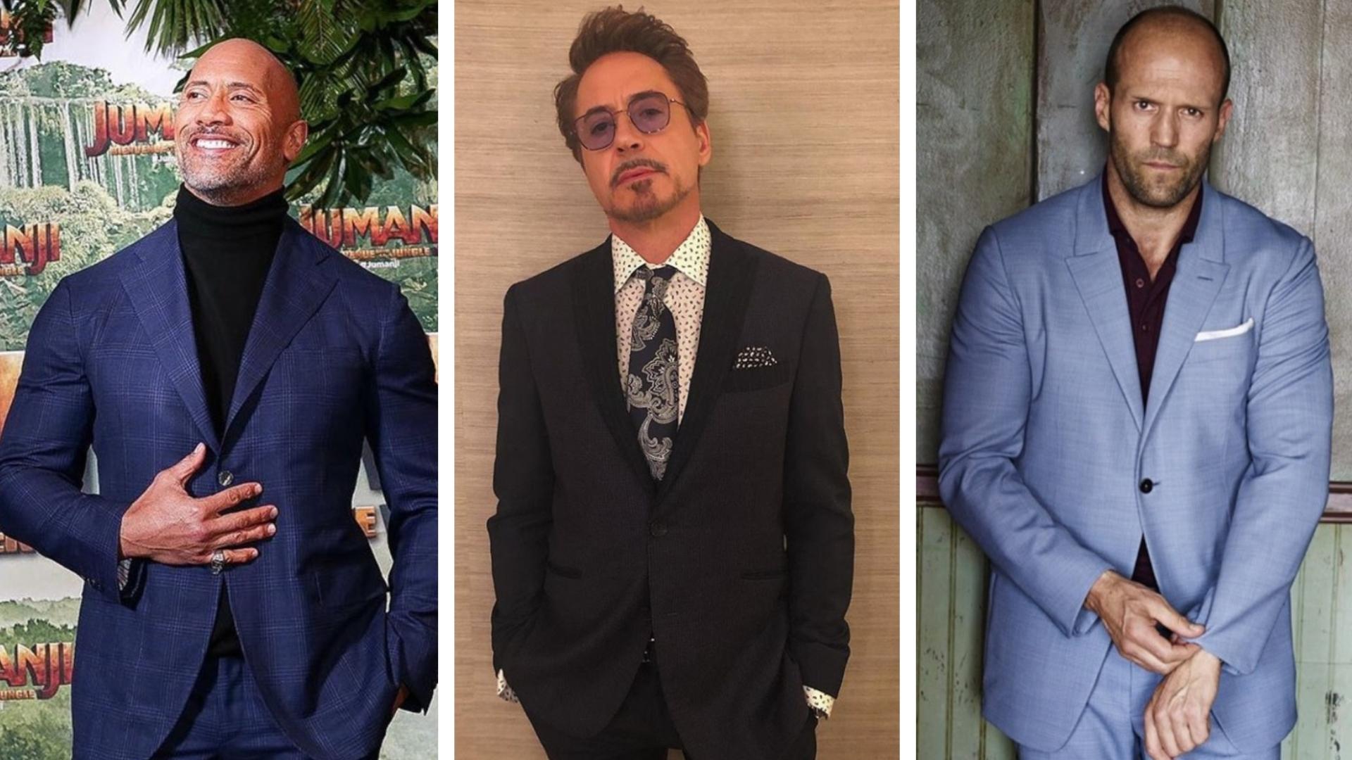 Estos son los actores de Hollywood que encabezan la lista de