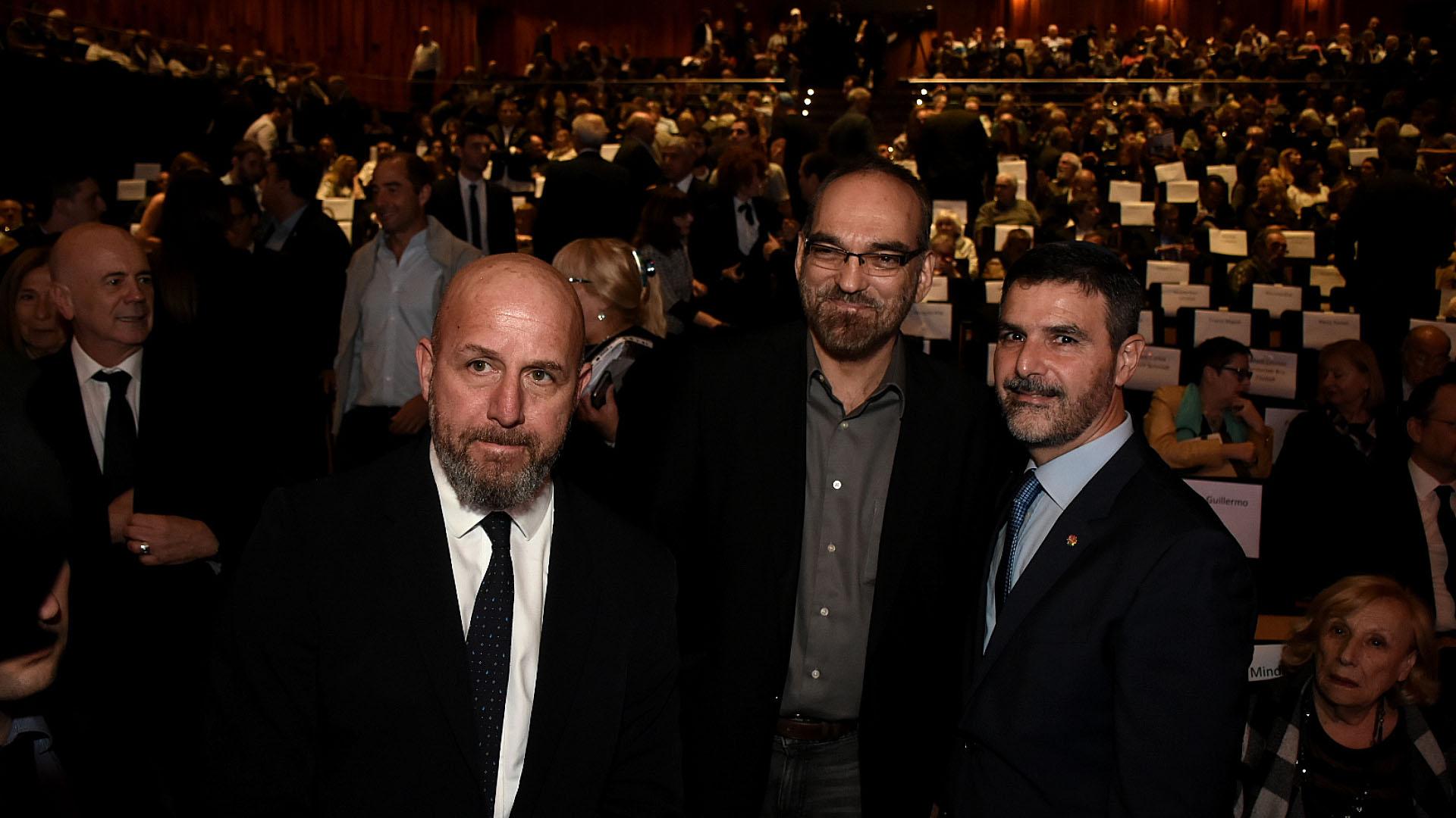 Los diputados Waldo Wolff y Fernando Iglesias